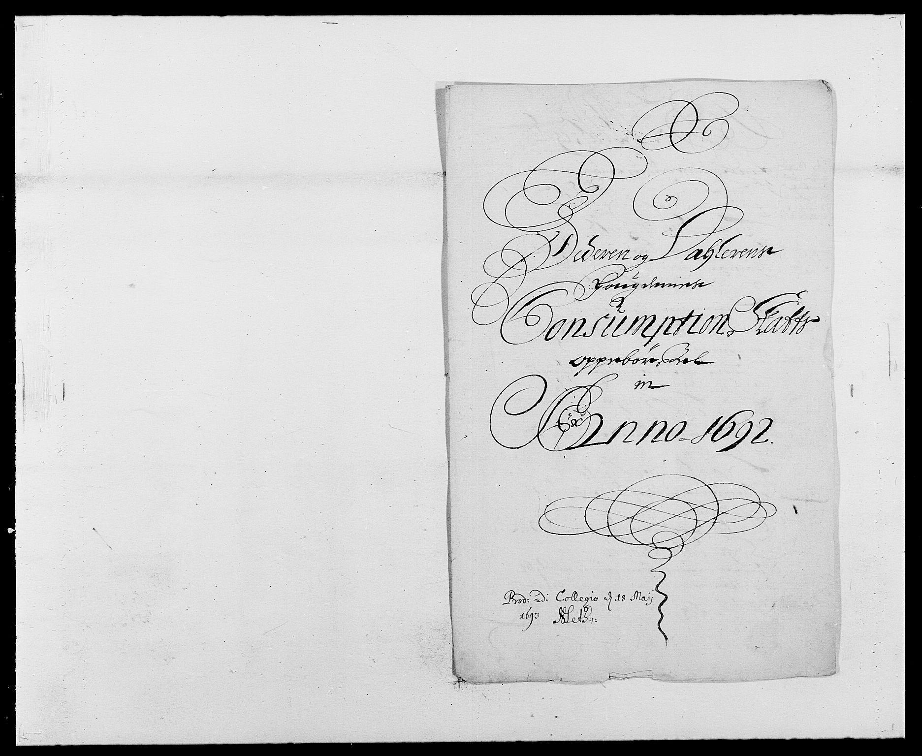 RA, Rentekammeret inntil 1814, Reviderte regnskaper, Fogderegnskap, R46/L2727: Fogderegnskap Jæren og Dalane, 1690-1693, s. 203