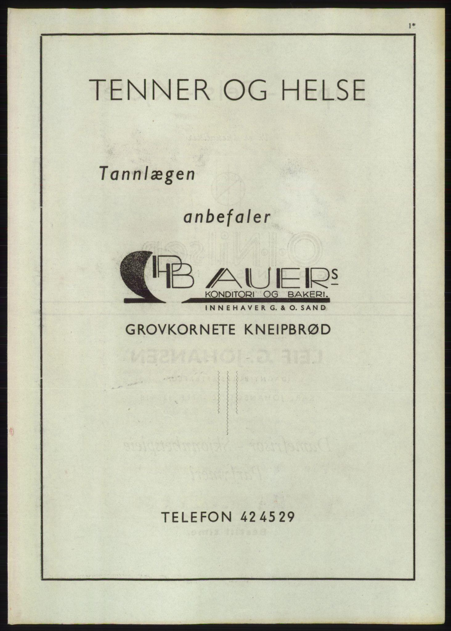 RA, Oslo adressebok (publikasjon)*, 1947, s. upaginert