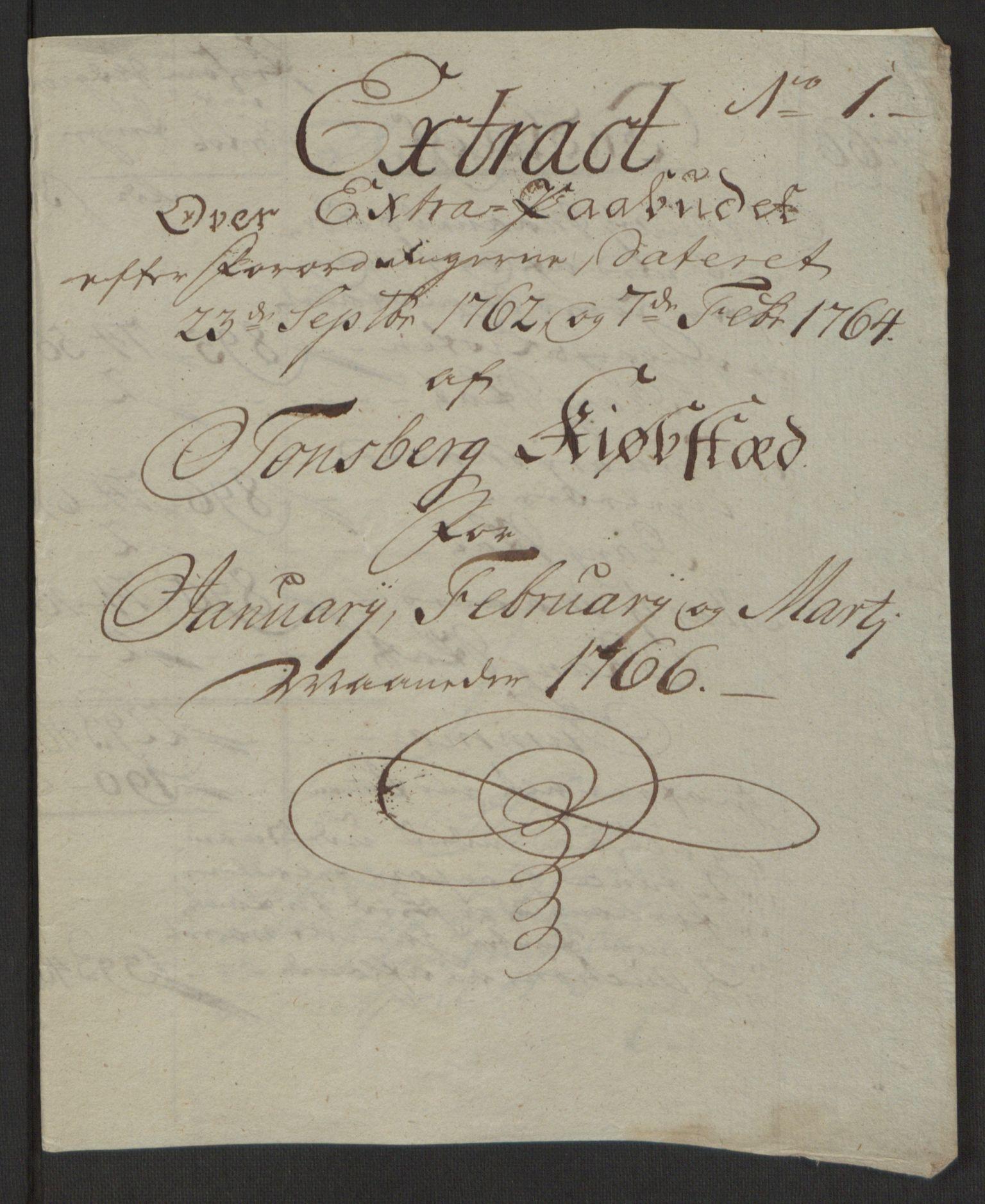 RA, Rentekammeret inntil 1814, Reviderte regnskaper, Byregnskaper, R/Rh/L0162: [H4] Kontribusjonsregnskap, 1762-1772, s. 250