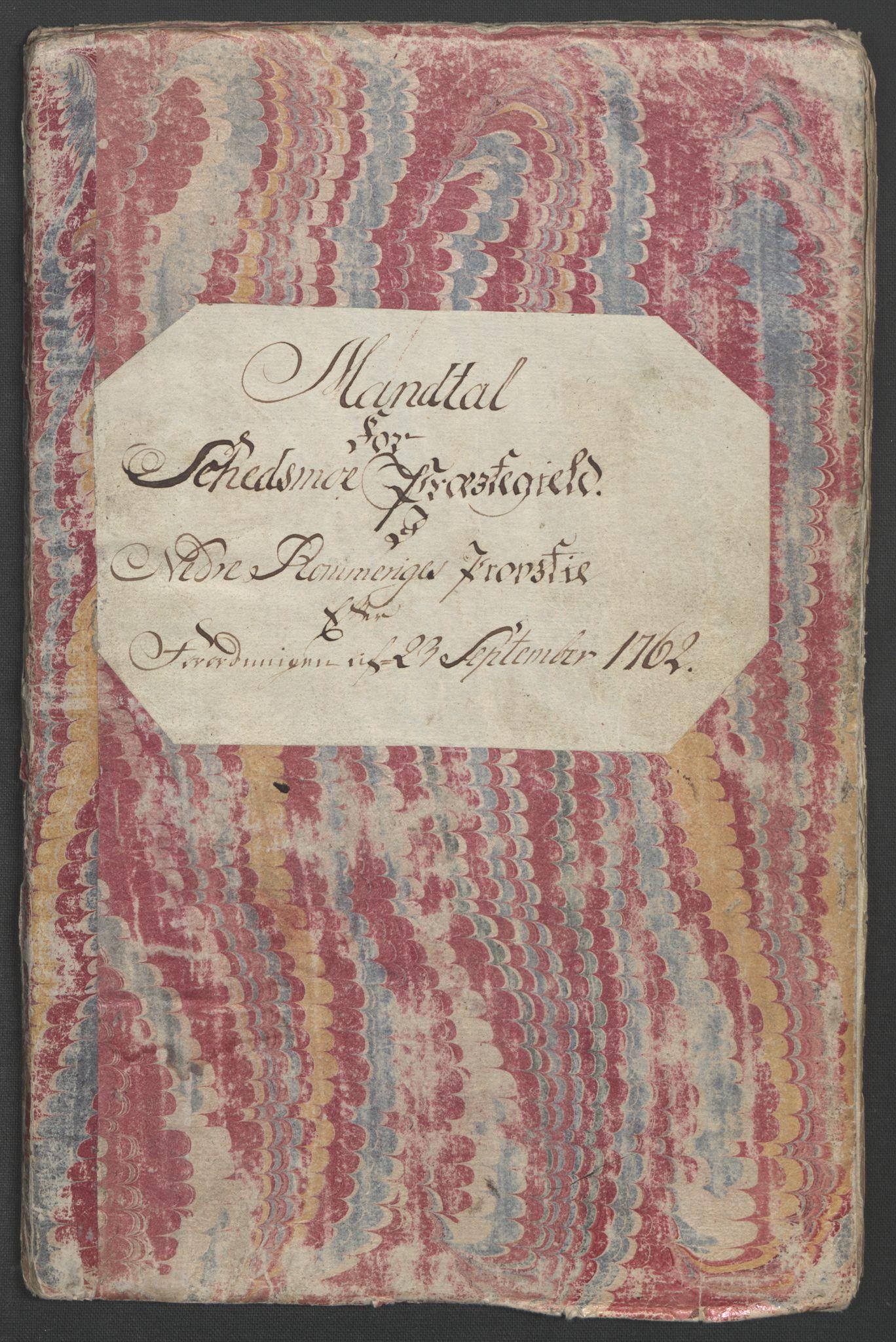 RA, Rentekammeret inntil 1814, Reviderte regnskaper, Fogderegnskap, R11/L0687: Ekstraskatten Nedre Romerike, 1762, s. 14