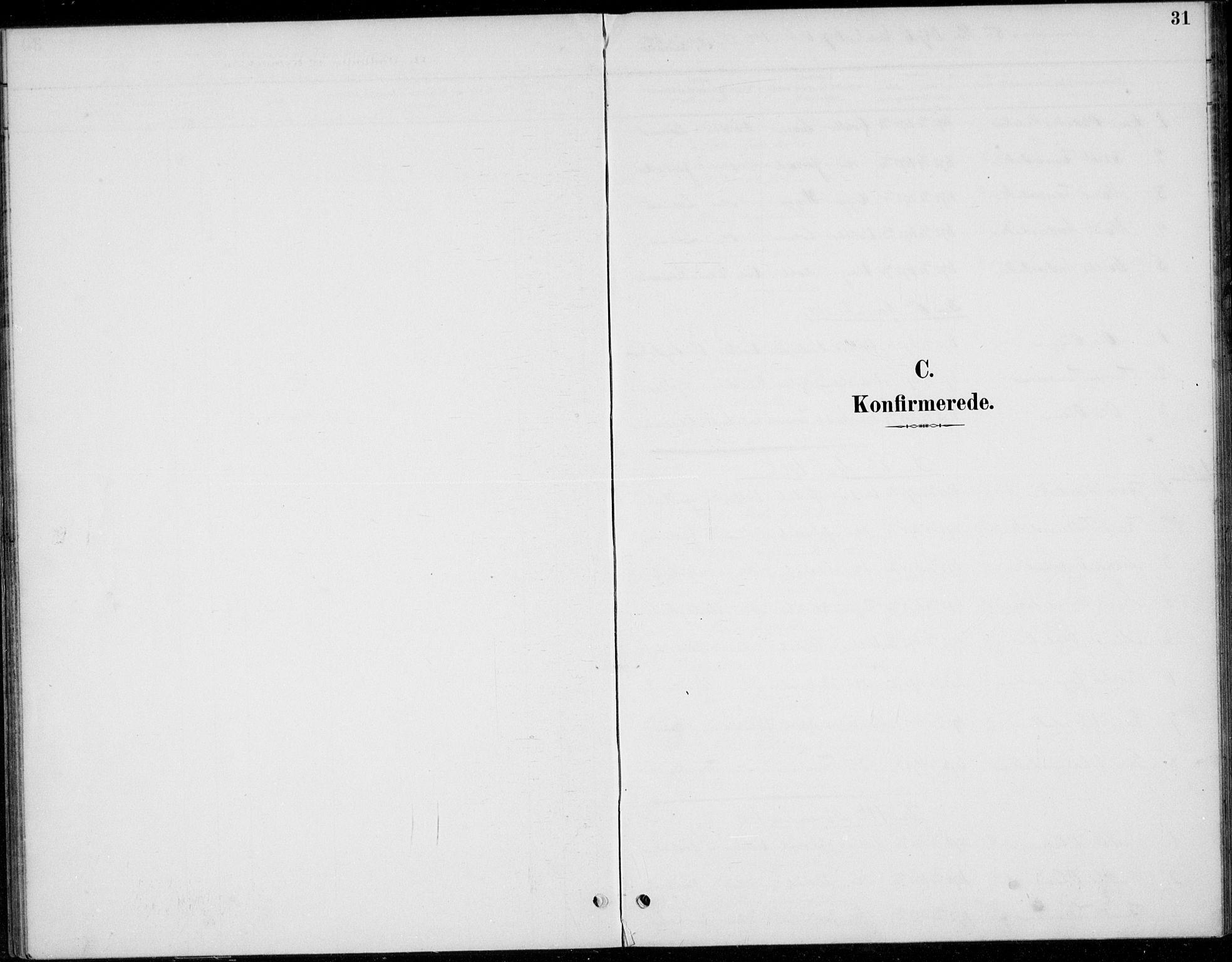 SAH, Øystre Slidre prestekontor, Ministerialbok nr. 5, 1887-1916, s. 31