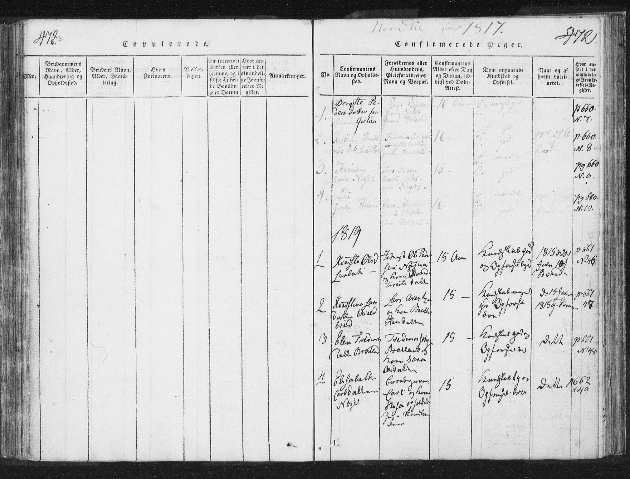 SAT, Ministerialprotokoller, klokkerbøker og fødselsregistre - Nord-Trøndelag, 755/L0491: Ministerialbok nr. 755A01 /1, 1817-1864, s. 471-472