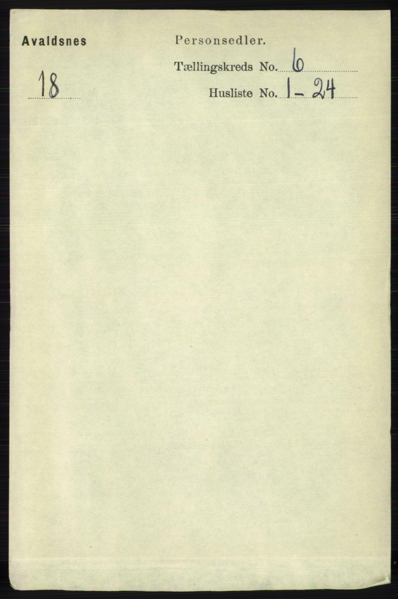 RA, Folketelling 1891 for 1147 Avaldsnes herred, 1891, s. 3234