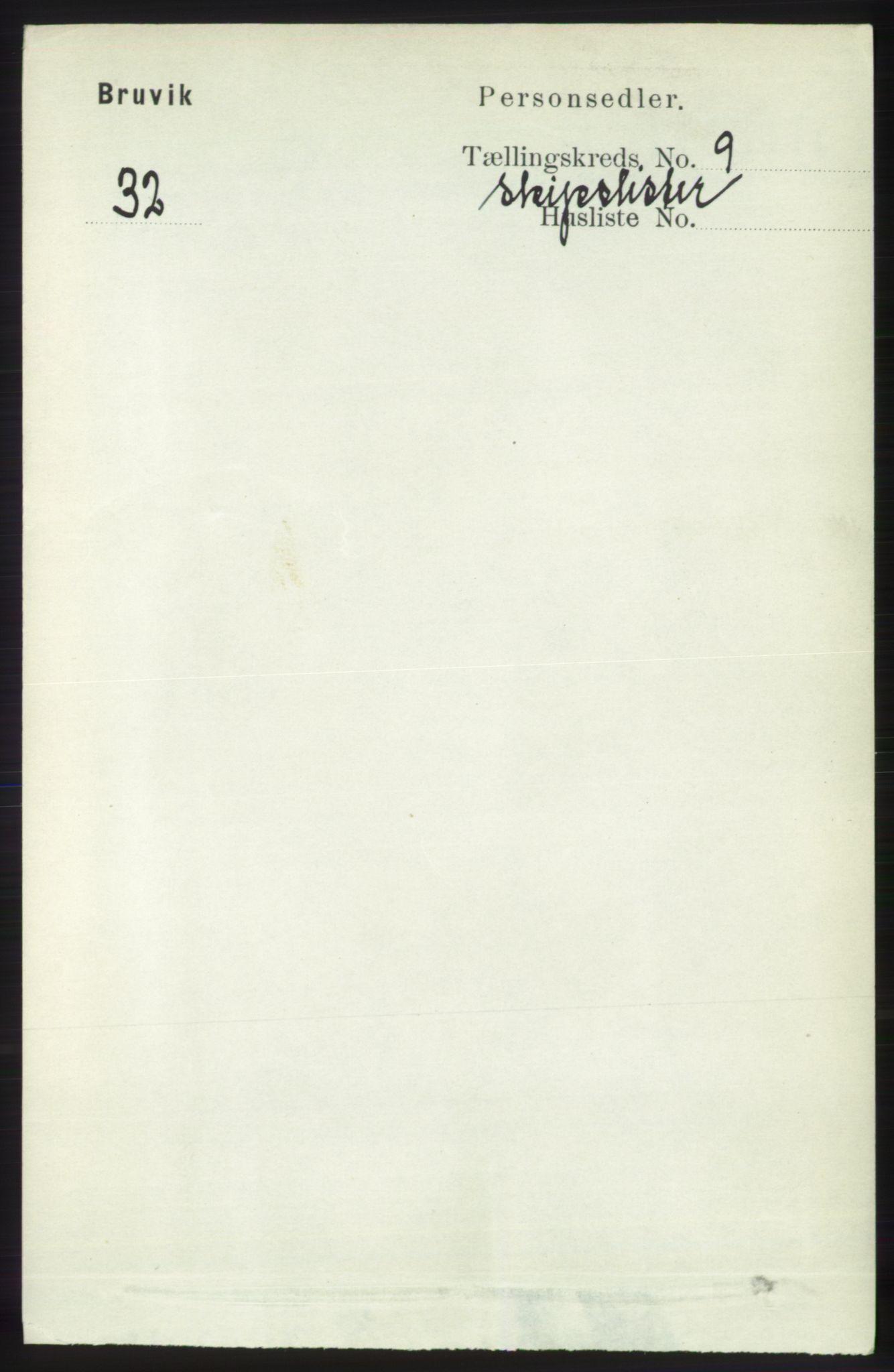 RA, Folketelling 1891 for 1251 Bruvik herred, 1891, s. 4142