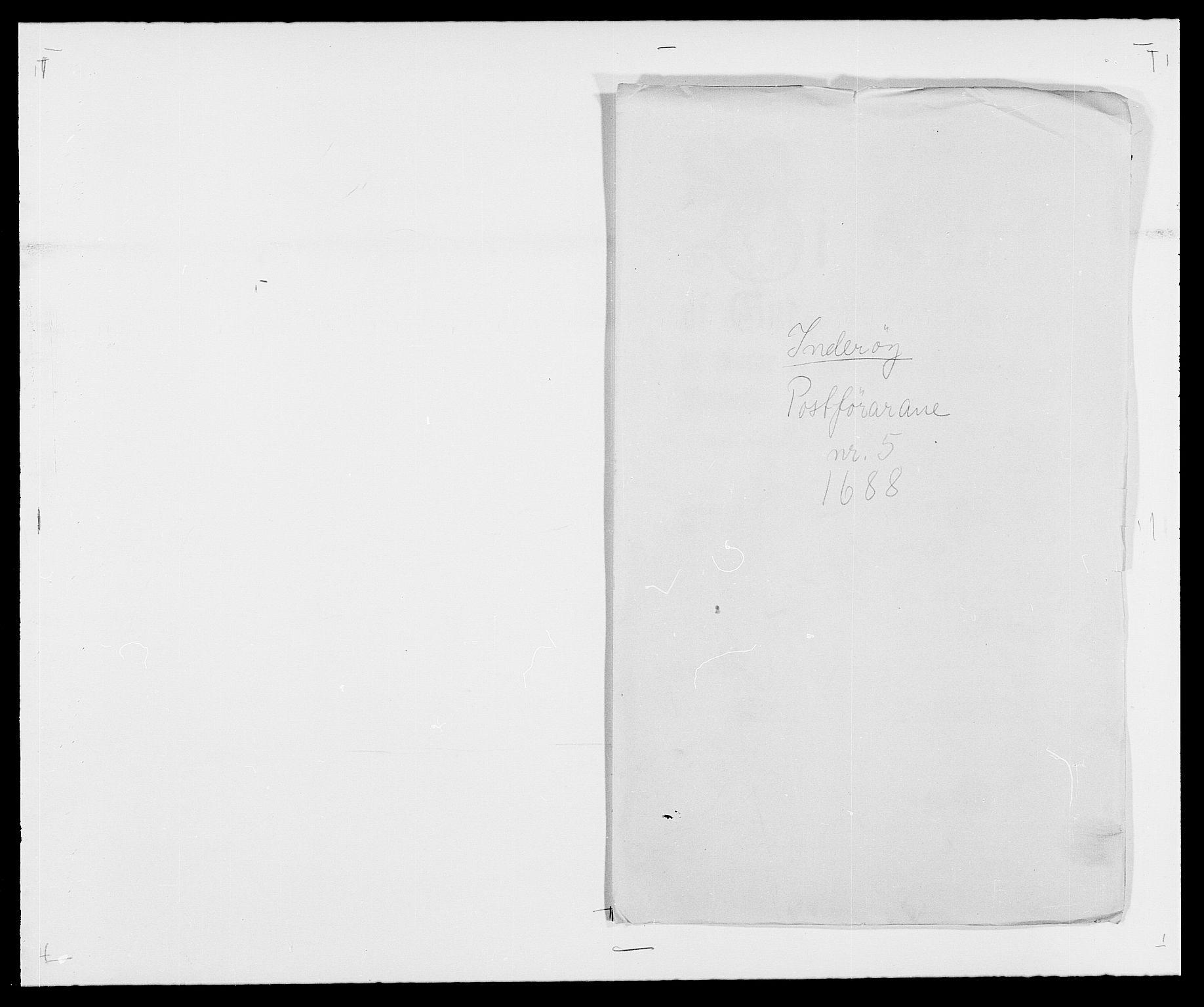 RA, Rentekammeret inntil 1814, Reviderte regnskaper, Fogderegnskap, R63/L4306: Fogderegnskap Inderøy, 1687-1689, s. 381