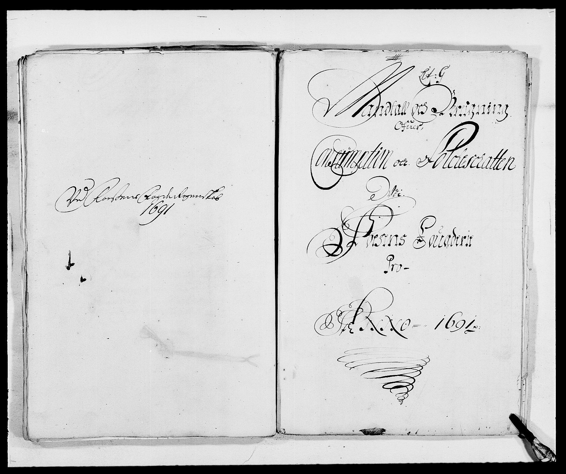 RA, Rentekammeret inntil 1814, Reviderte regnskaper, Fogderegnskap, R57/L3848: Fogderegnskap Fosen, 1690-1691, s. 262