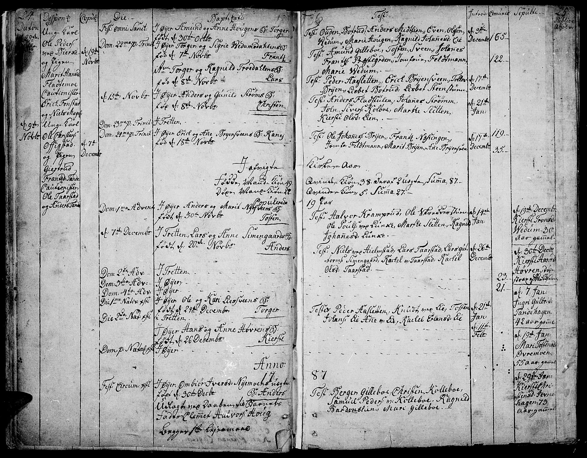 SAH, Øyer prestekontor, Ministerialbok nr. 3, 1784-1824, s. 24-25