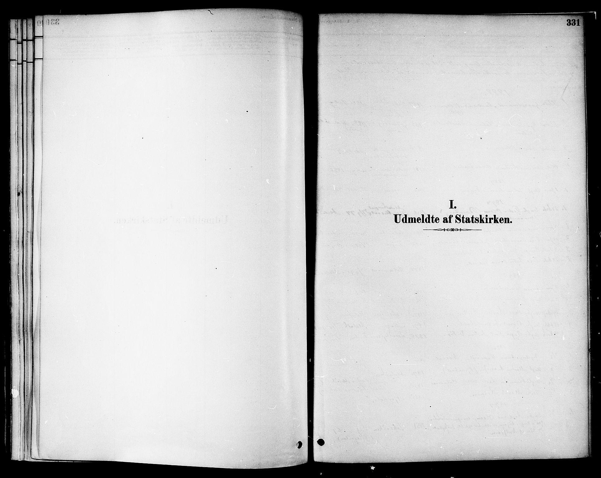 SAT, Ministerialprotokoller, klokkerbøker og fødselsregistre - Nord-Trøndelag, 717/L0159: Ministerialbok nr. 717A09, 1878-1898, s. 331