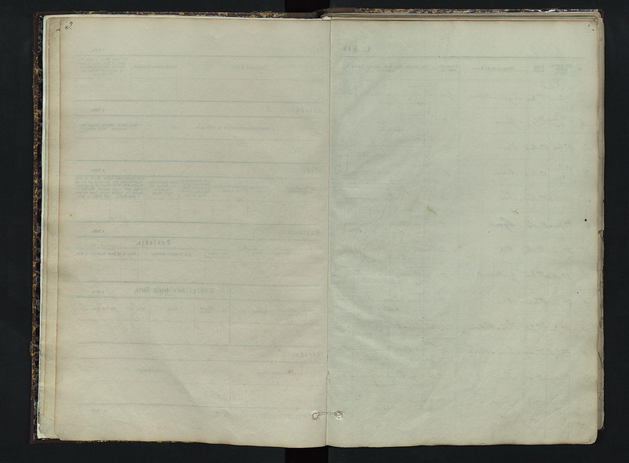SAH, Sør-Aurdal prestekontor, Klokkerbok nr. 3, 1862-1893, s. 3