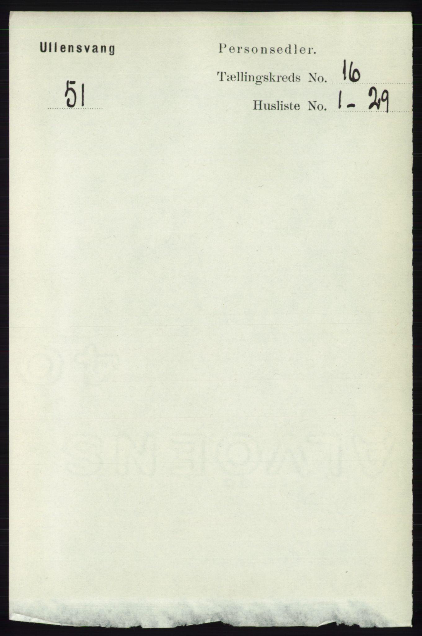 RA, Folketelling 1891 for 1230 Ullensvang herred, 1891, s. 6230
