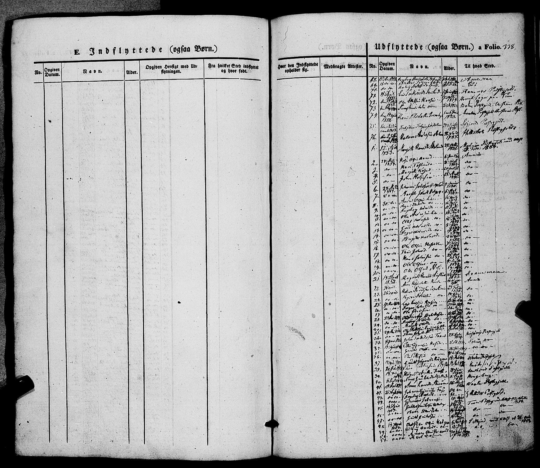 SAKO, Hjartdal kirkebøker, F/Fa/L0008: Ministerialbok nr. I 8, 1844-1859, s. 338