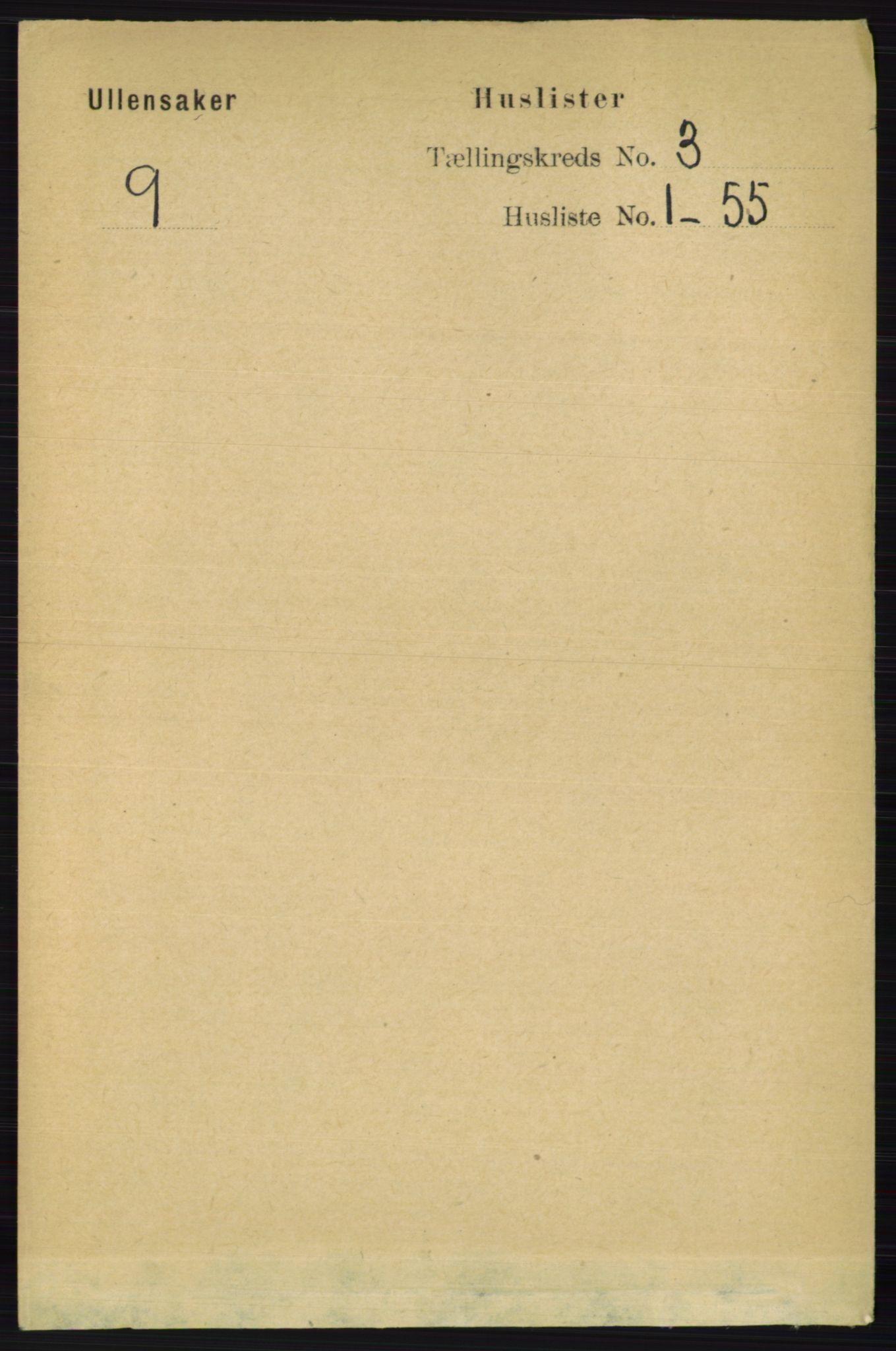 RA, Folketelling 1891 for 0235 Ullensaker herred, 1891, s. 1059