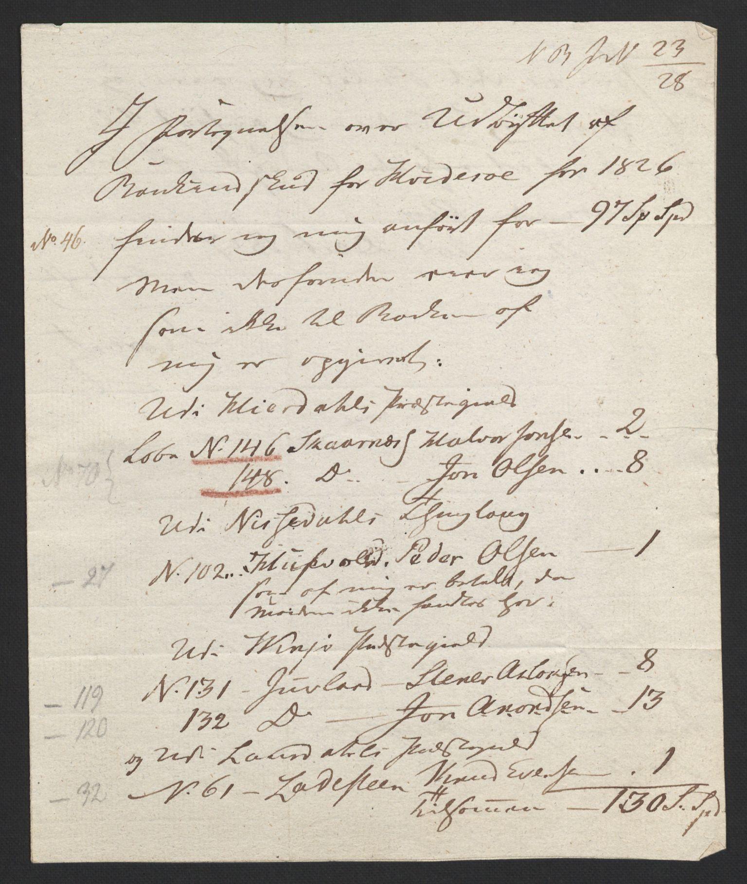 NOBA, Norges Bank/Sølvskatten 1816*, 1816, s. 75