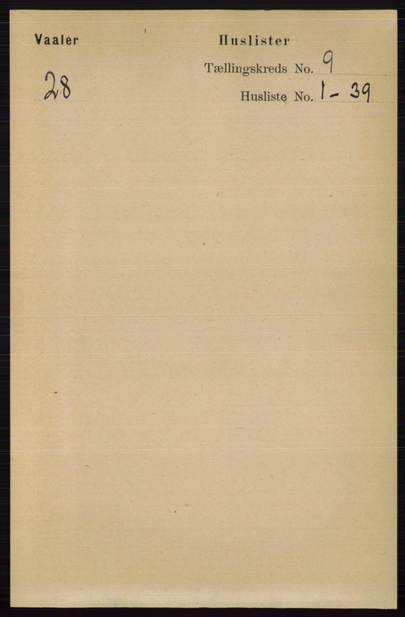 RA, Folketelling 1891 for 0426 Våler herred, 1891, s. 3812