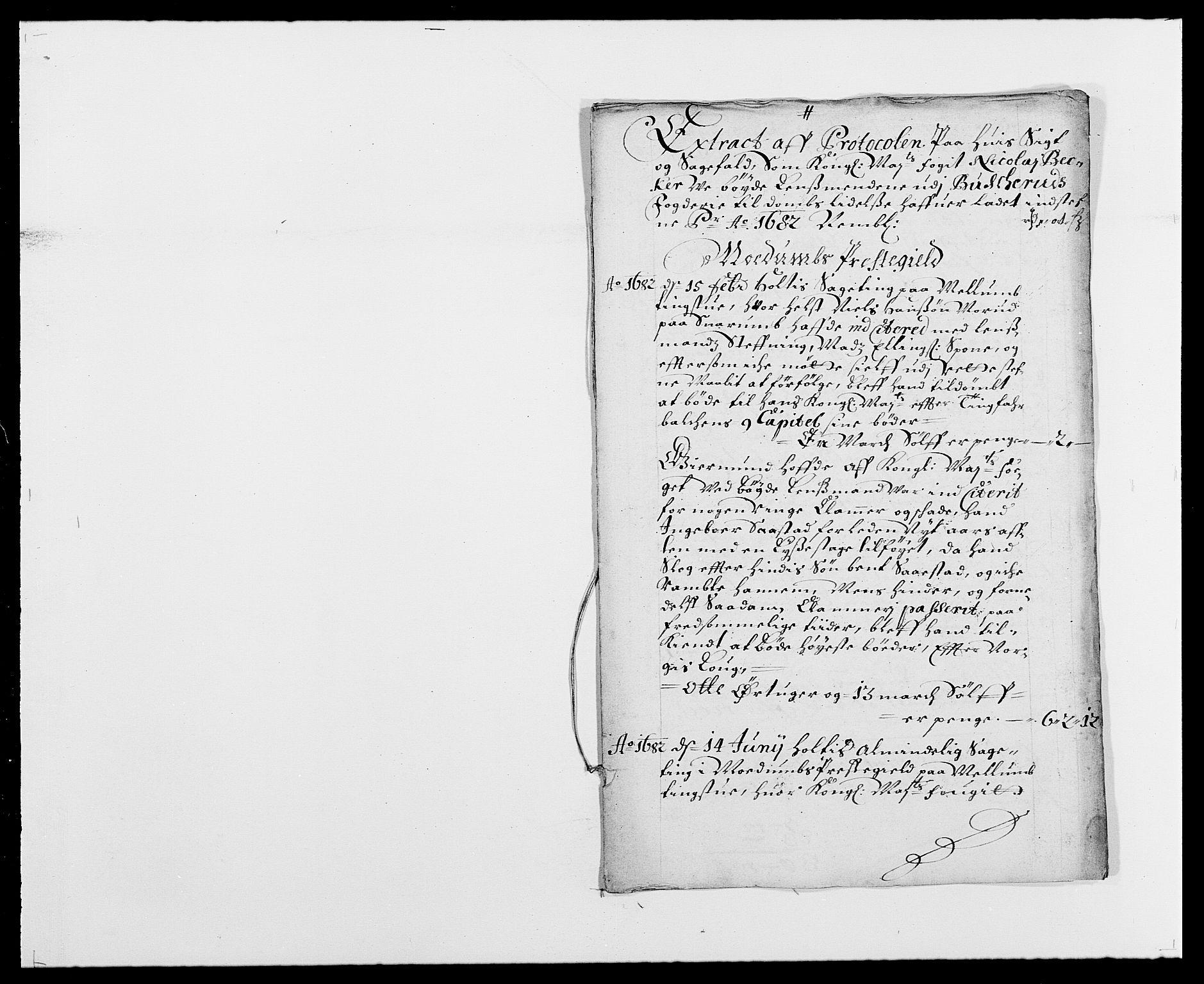 RA, Rentekammeret inntil 1814, Reviderte regnskaper, Fogderegnskap, R25/L1676: Fogderegnskap Buskerud, 1682, s. 23