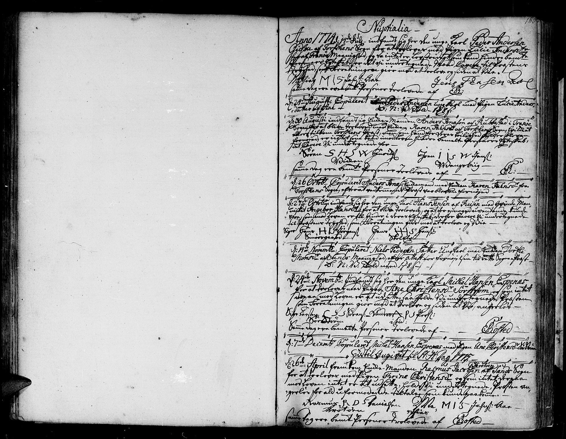 SATØ, Tranøy sokneprestkontor, I/Ia/Iaa/L0002kirke: Ministerialbok nr. 2, 1773-1806, s. 160