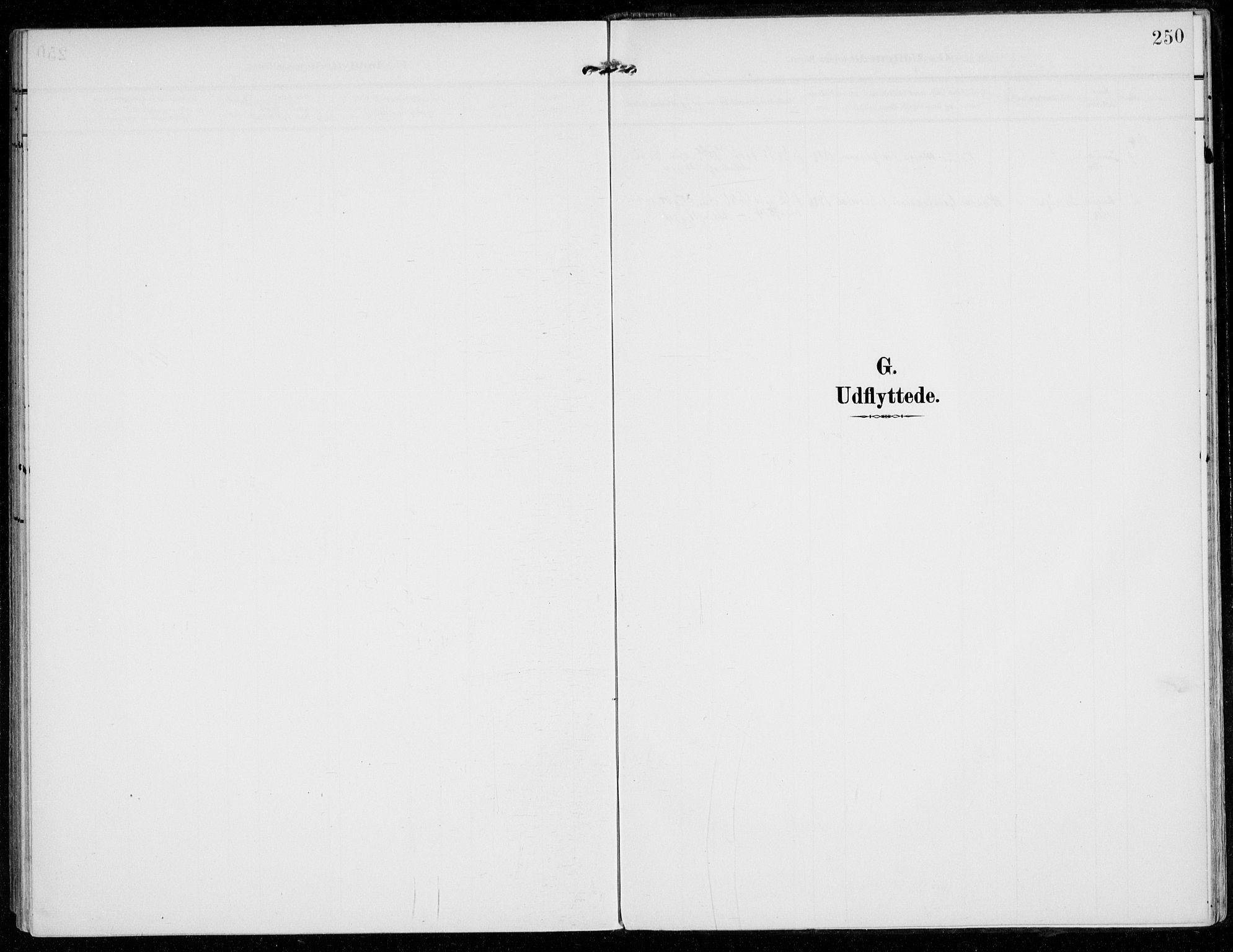 SAO, Vestby prestekontor Kirkebøker, F/Fc/L0002: Ministerialbok nr. III 2, 1906-1940, s. 250