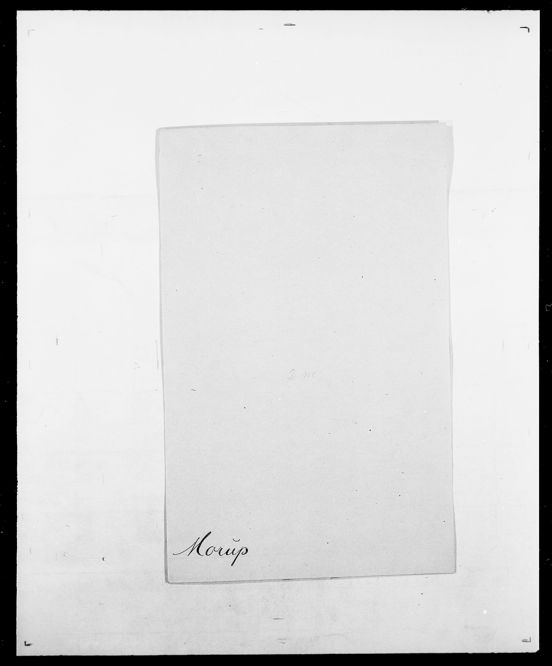 SAO, Delgobe, Charles Antoine - samling, D/Da/L0027: Morath - v. Møsting, s. 39