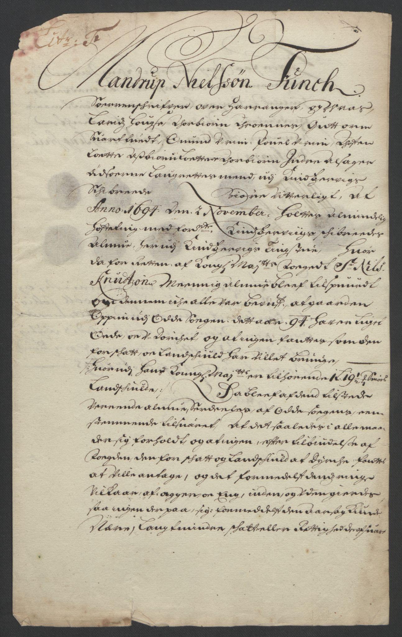 RA, Rentekammeret inntil 1814, Reviderte regnskaper, Fogderegnskap, R48/L2975: Fogderegnskap Sunnhordland og Hardanger, 1694, s. 322
