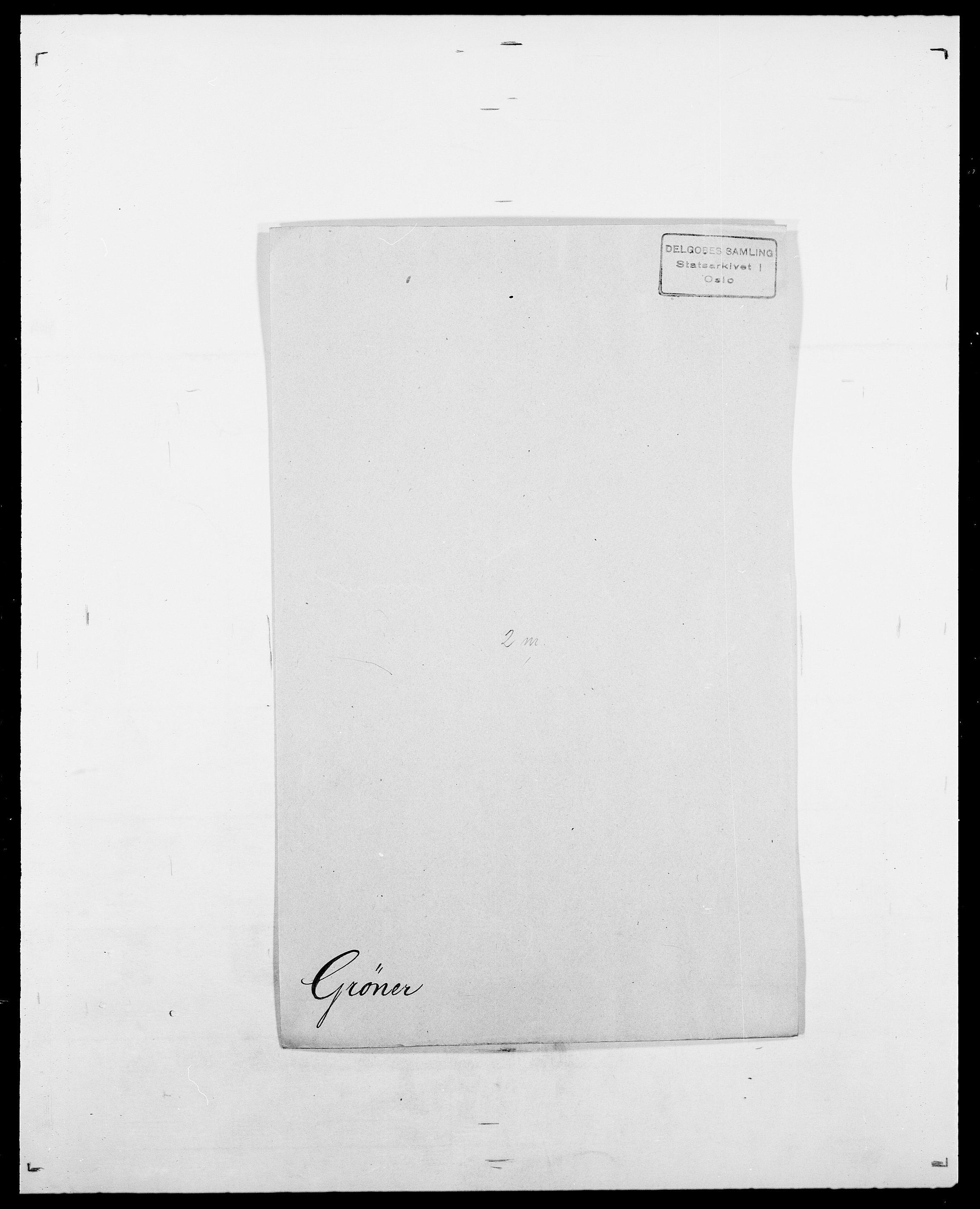 SAO, Delgobe, Charles Antoine - samling, D/Da/L0015: Grodtshilling - Halvorsæth, s. 243