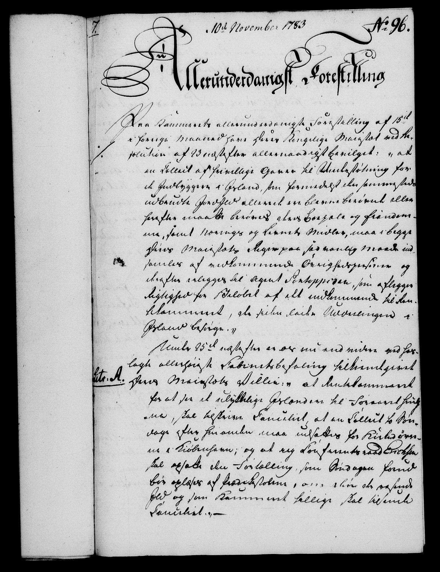 RA, Rentekammeret, Kammerkanselliet, G/Gf/Gfa/L0065: Norsk relasjons- og resolusjonsprotokoll (merket RK 52.65), 1783, s. 724