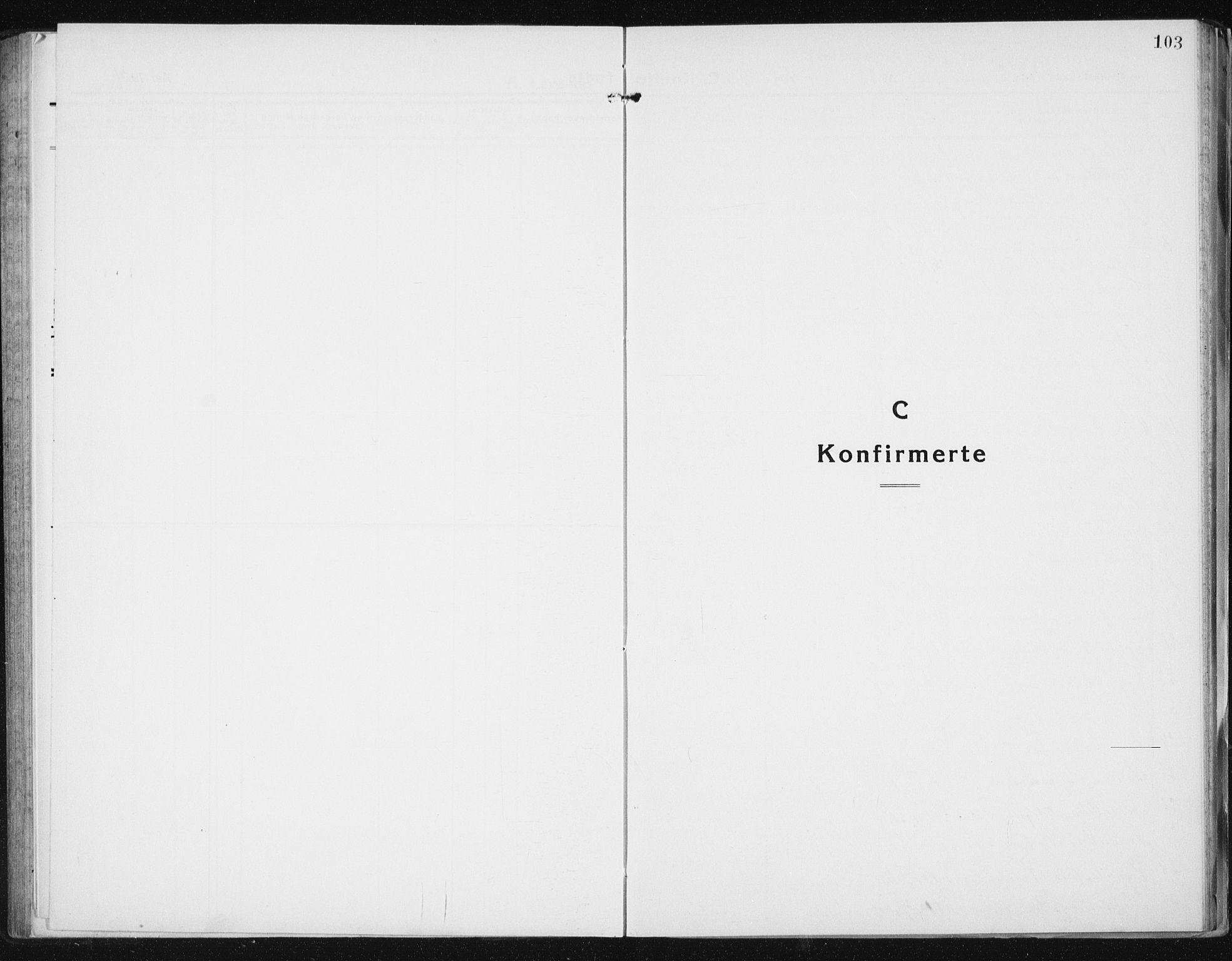 SAT, Ministerialprotokoller, klokkerbøker og fødselsregistre - Sør-Trøndelag, 640/L0589: Klokkerbok nr. 640C06, 1922-1934, s. 103