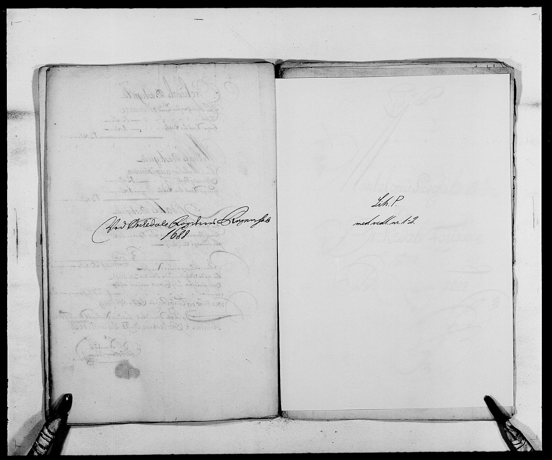 RA, Rentekammeret inntil 1814, Reviderte regnskaper, Fogderegnskap, R58/L3935: Fogderegnskap Orkdal, 1687-1688, s. 350