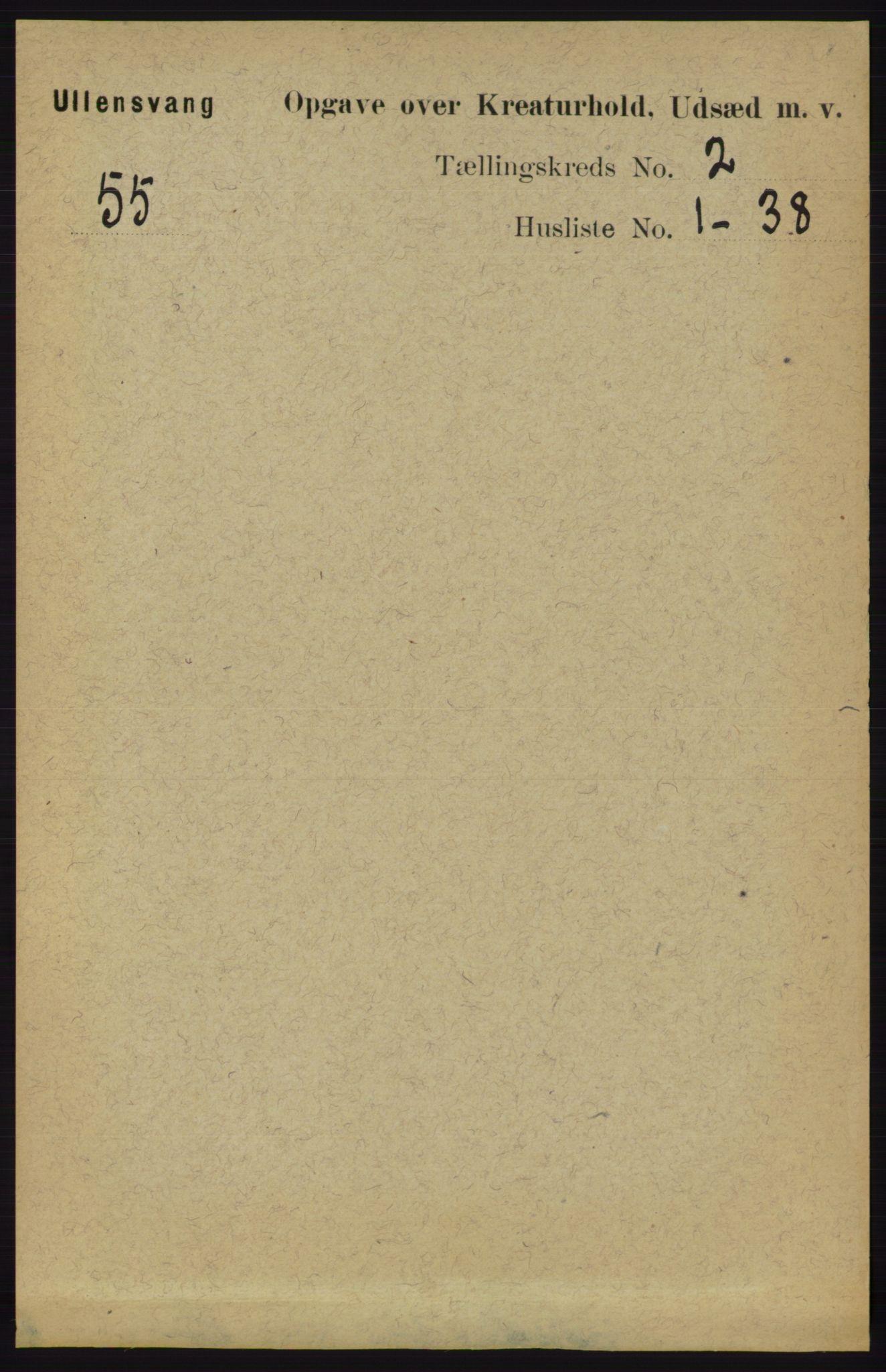 RA, Folketelling 1891 for 1230 Ullensvang herred, 1891, s. 6733