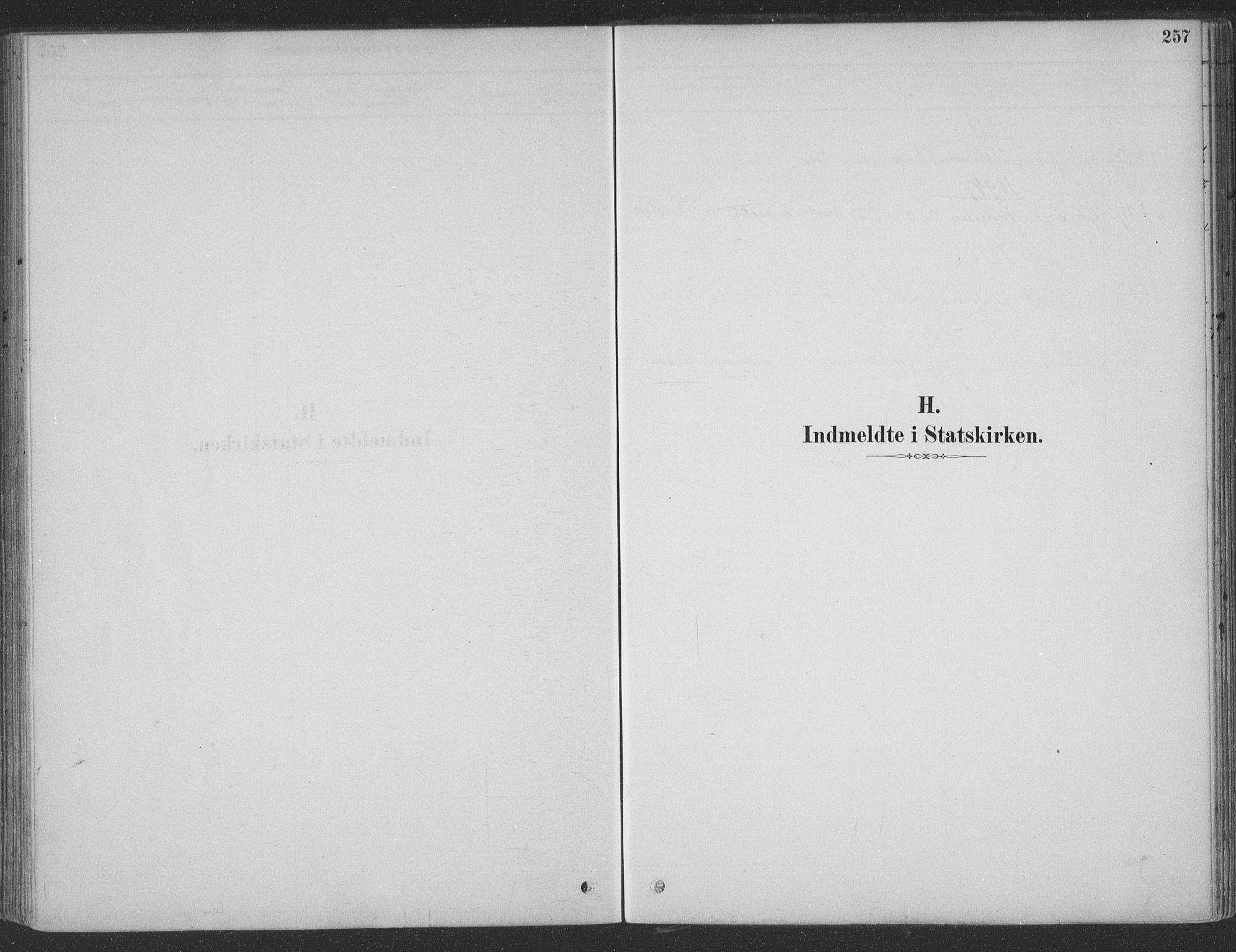 SAT, Ministerialprotokoller, klokkerbøker og fødselsregistre - Møre og Romsdal, 547/L0604: Ministerialbok nr. 547A06, 1878-1906, s. 257