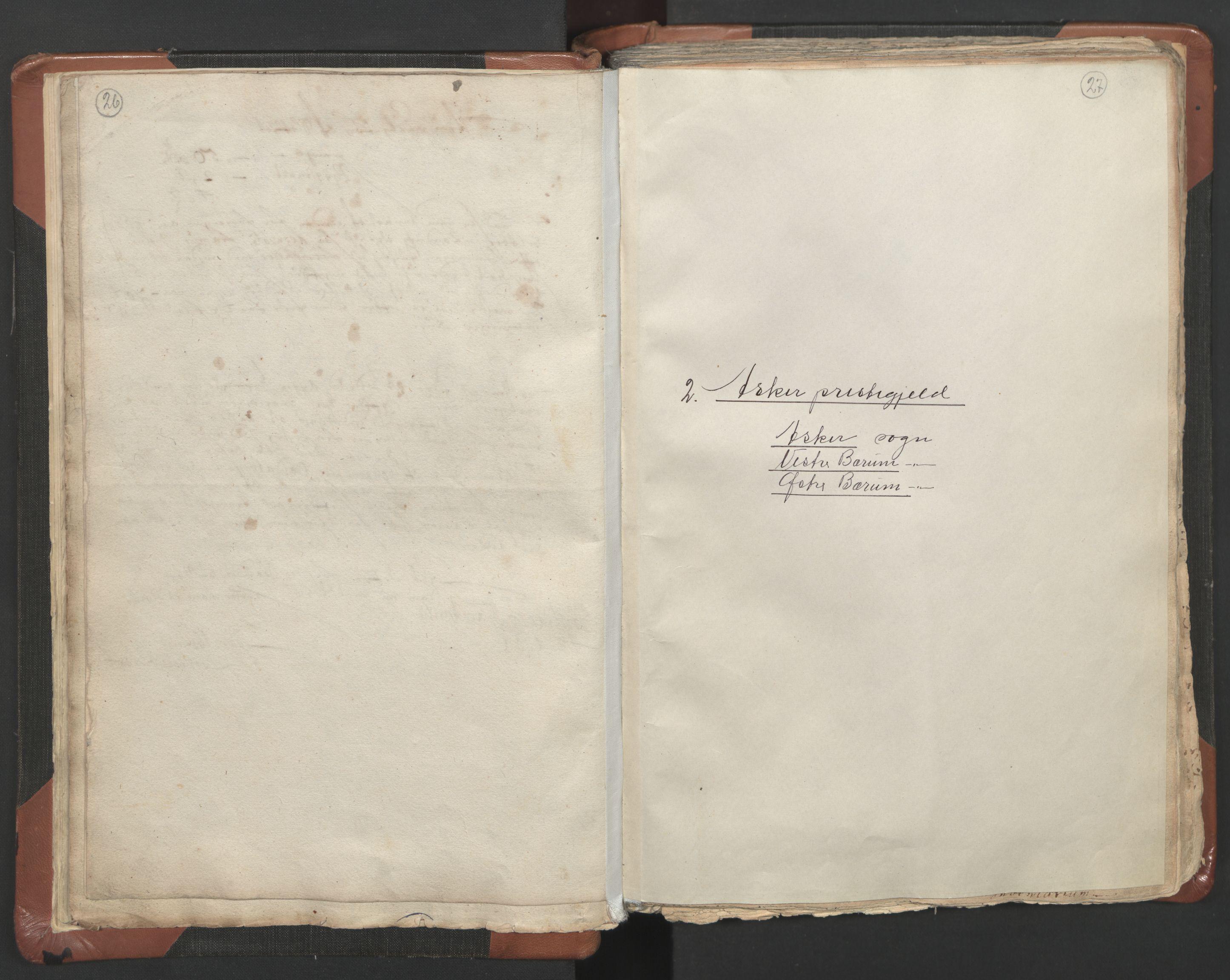 RA, Sogneprestenes manntall 1664-1666, nr. 9: Bragernes prosti, 1664-1666, s. 26-27