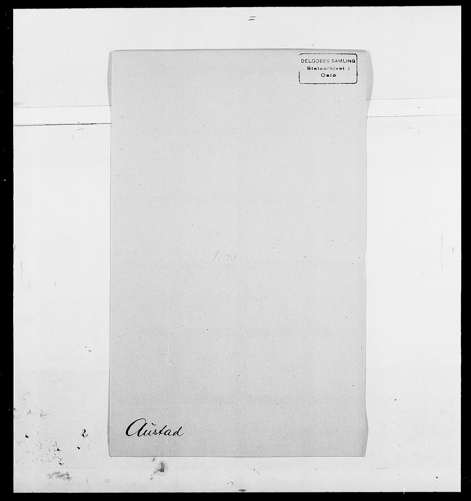 SAO, Delgobe, Charles Antoine - samling, D/Da/L0002: Anker, Ancher - Bauner, s. 525