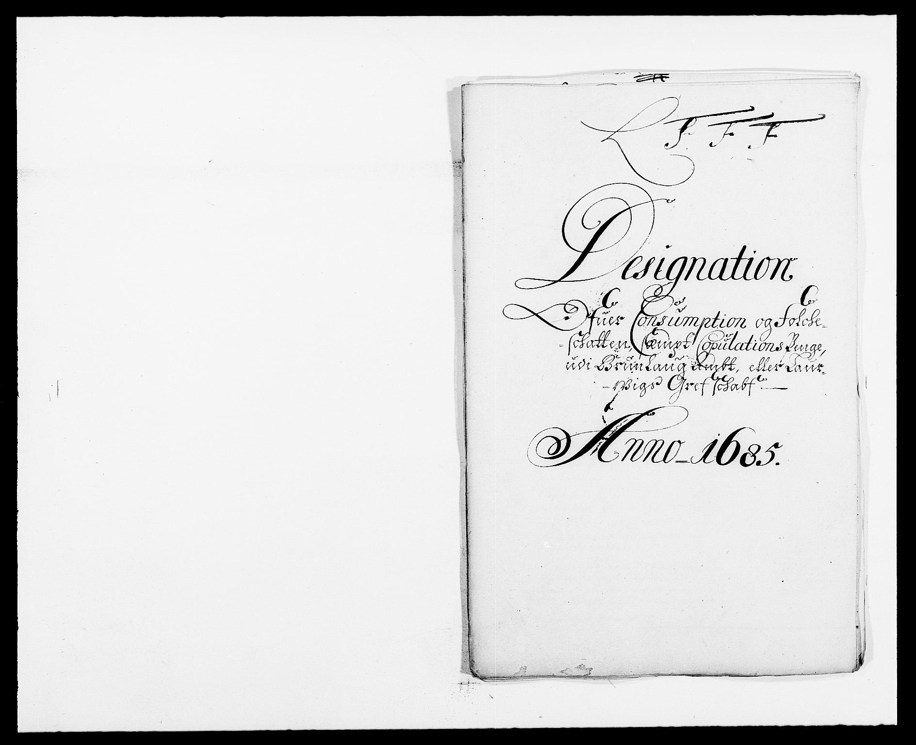RA, Rentekammeret inntil 1814, Reviderte regnskaper, Fogderegnskap, R33/L1970: Fogderegnskap Larvik grevskap, 1675-1687, s. 97