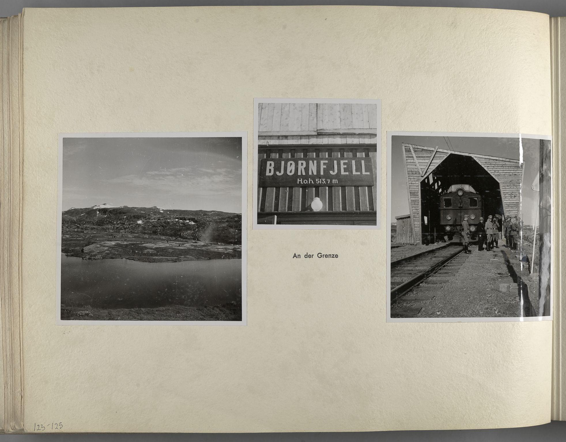 RA, Tyske arkiver, Reichskommissariat, Bildarchiv, U/L0071: Fotoalbum: Mit dem Reichskommissar nach Nordnorwegen und Finnland 10. bis 27. Juli 1942, 1942, s. 50