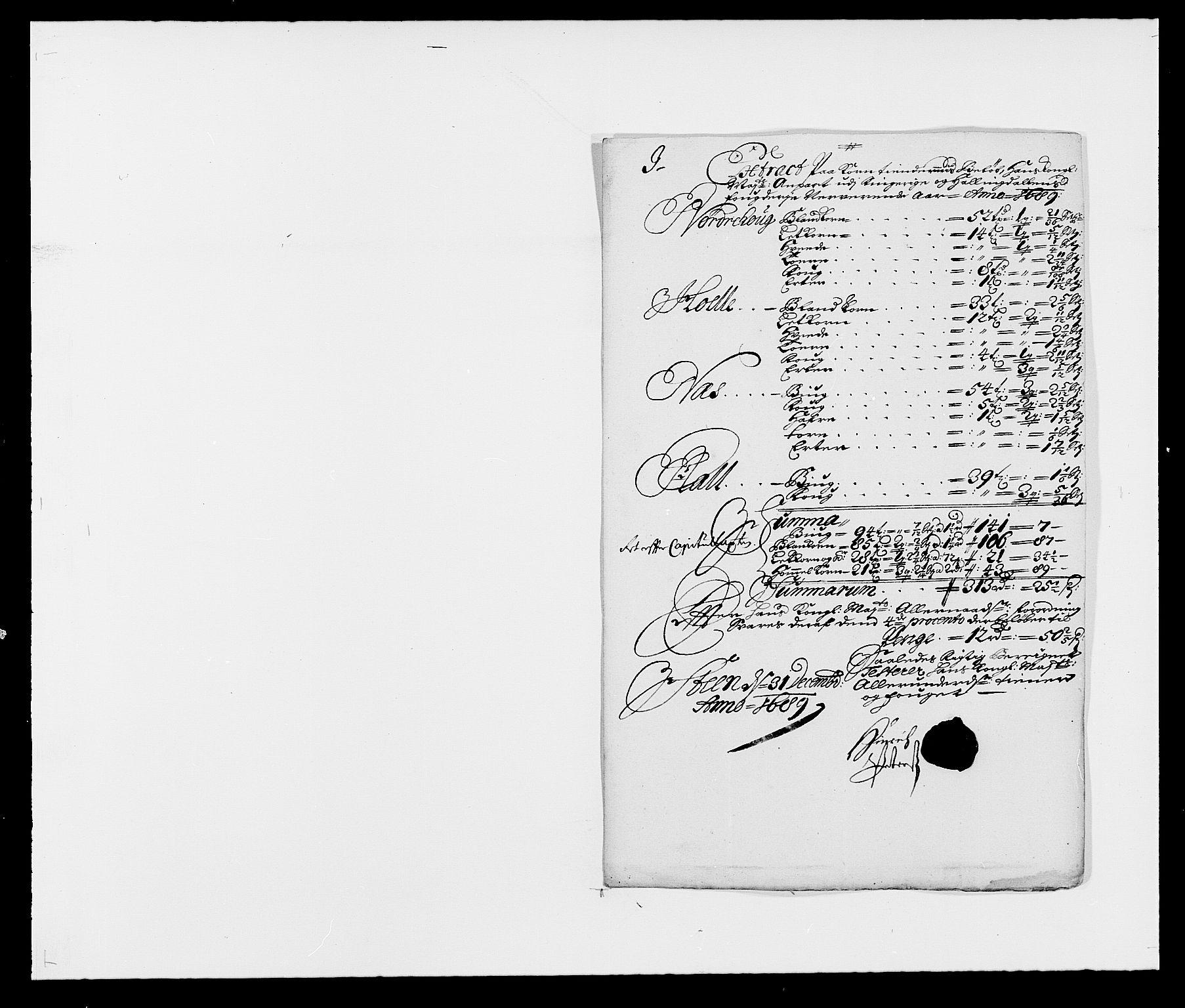 RA, Rentekammeret inntil 1814, Reviderte regnskaper, Fogderegnskap, R21/L1447: Fogderegnskap Ringerike og Hallingdal, 1687-1689, s. 266