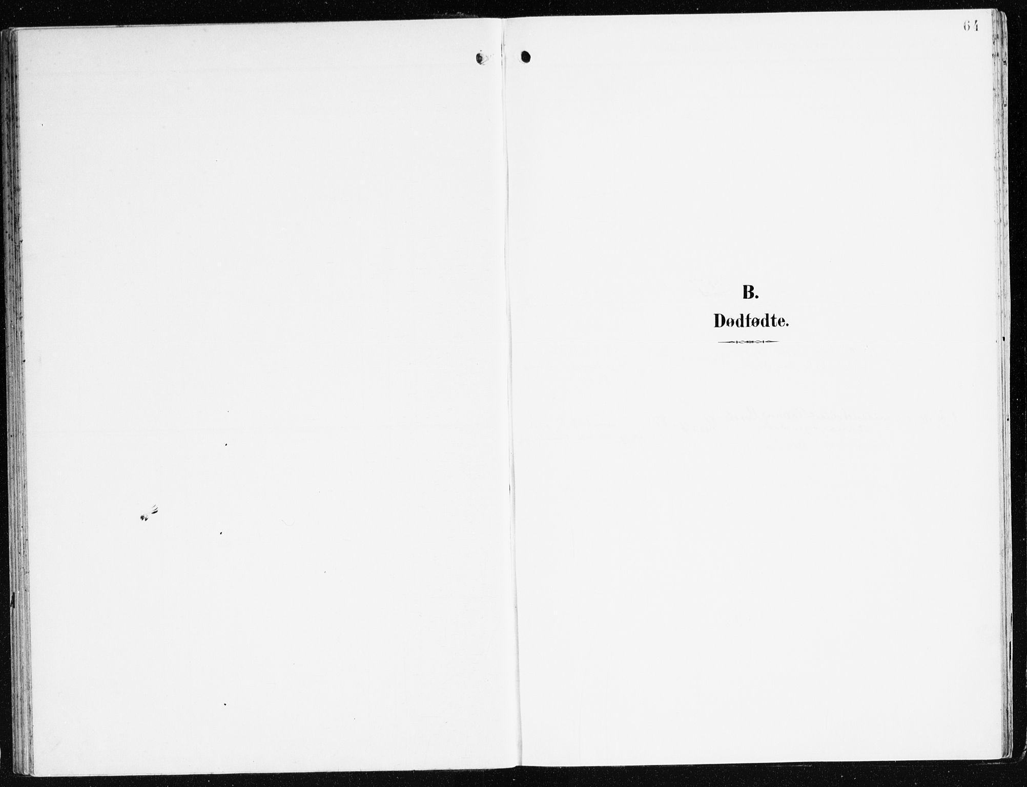 SAB, Eid Sokneprestembete, H/Haa: Ministerialbok nr. C 2, 1899-1927, s. 64