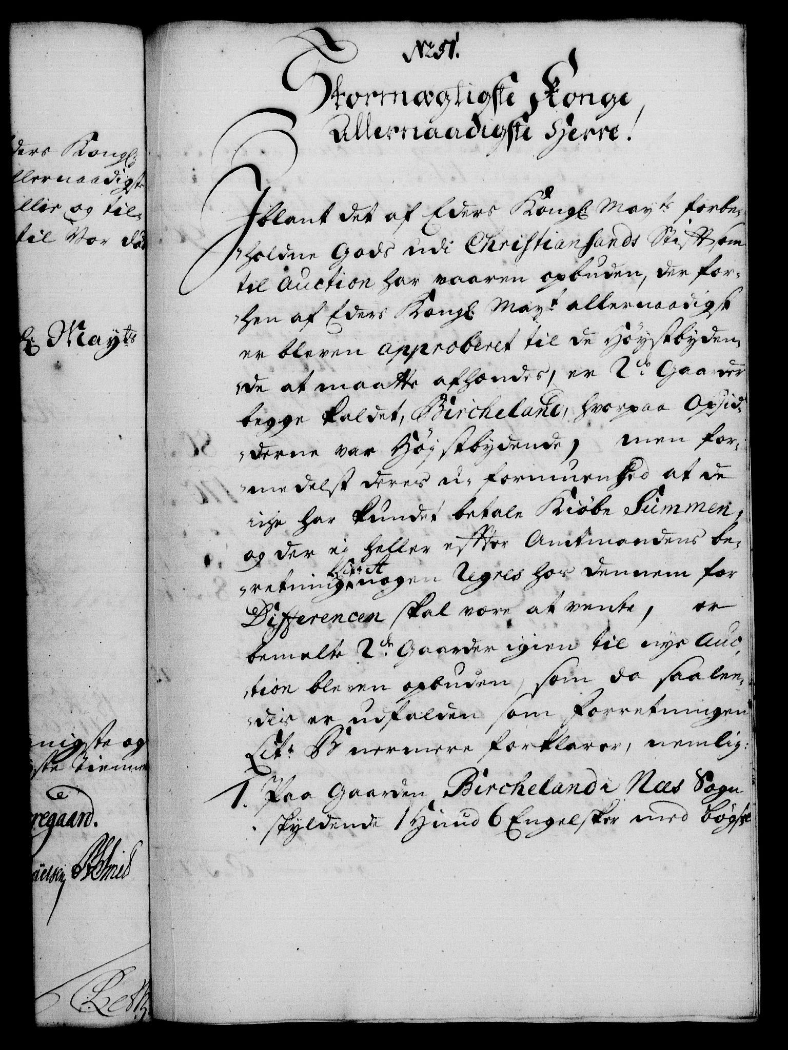 RA, Rentekammeret, Kammerkanselliet, G/Gf/Gfa/L0012: Norsk relasjons- og resolusjonsprotokoll (merket RK 52.12), 1729, s. 274