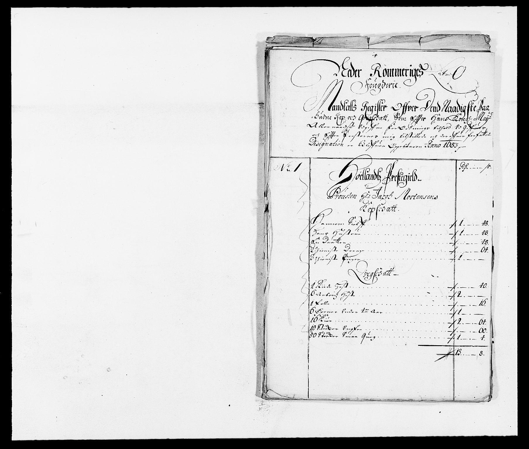 RA, Rentekammeret inntil 1814, Reviderte regnskaper, Fogderegnskap, R11/L0571: Fogderegnskap Nedre Romerike, 1683-1685, s. 118
