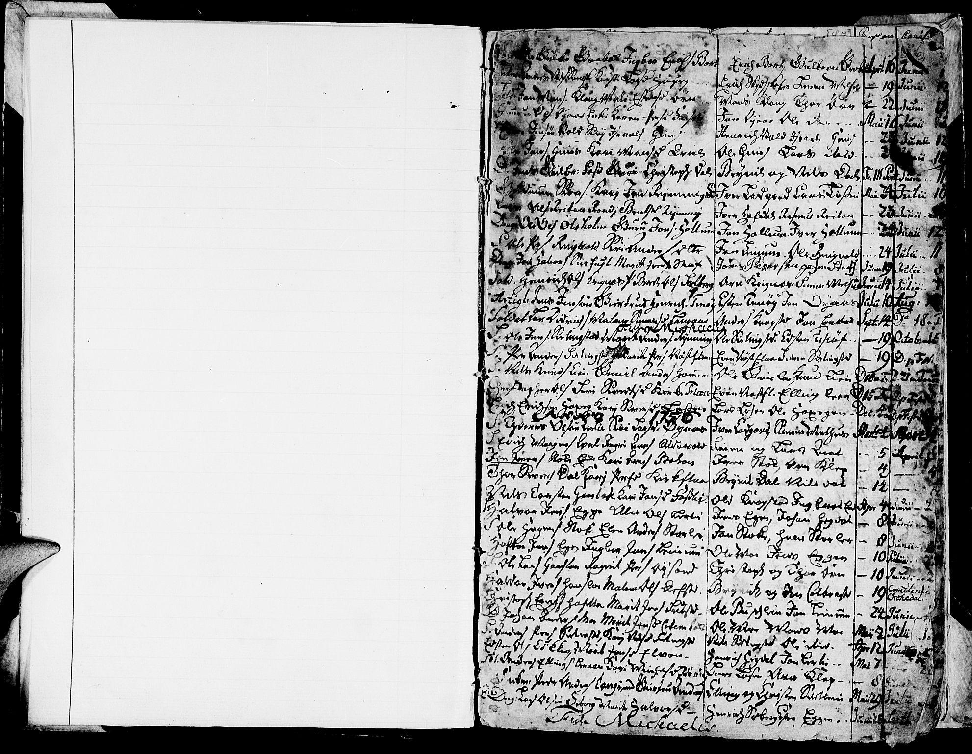 SAT, Ministerialprotokoller, klokkerbøker og fødselsregistre - Sør-Trøndelag, 691/L1057: Ministerialbok nr. 691A01 /1, 1740-1767, s. 6