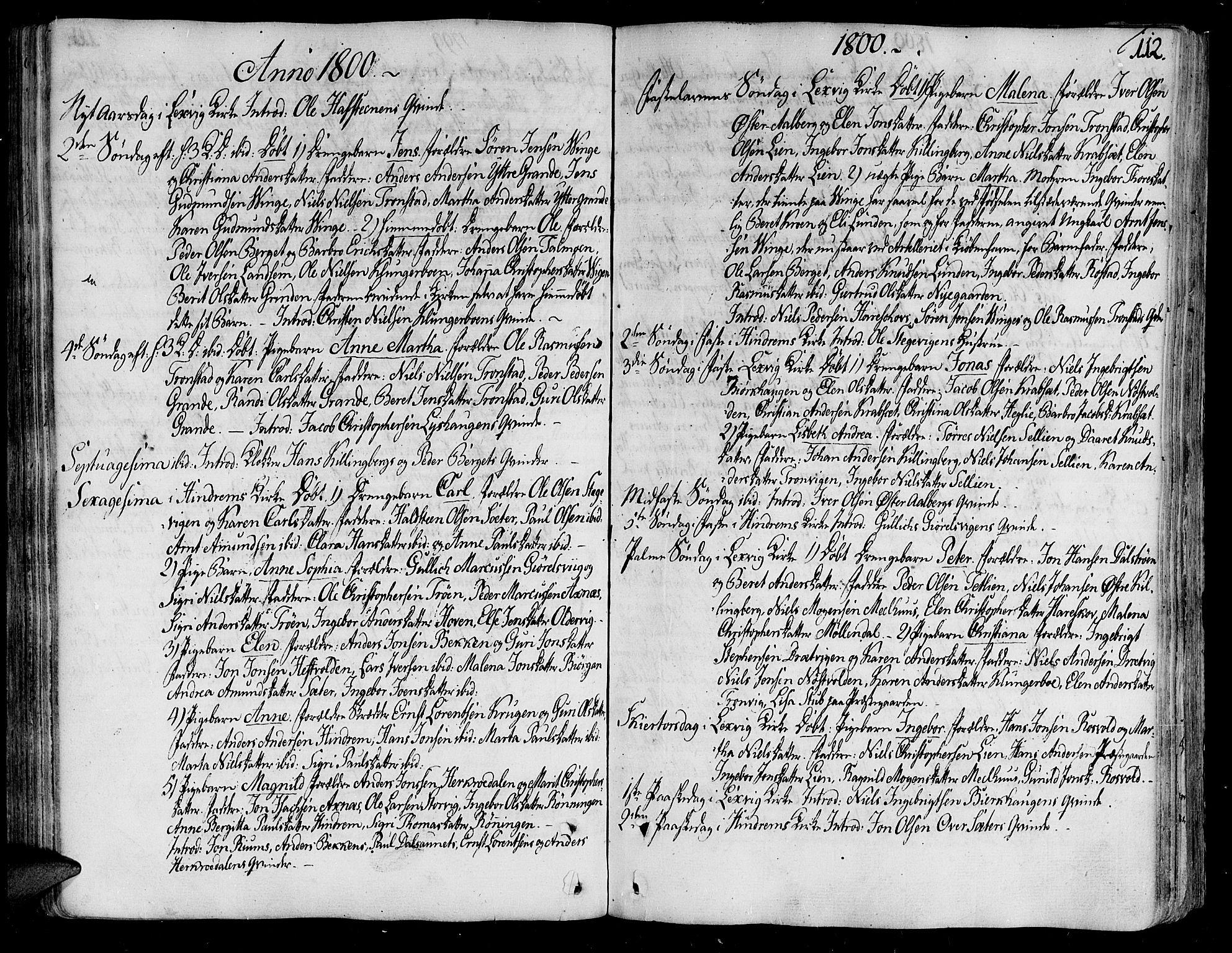 SAT, Ministerialprotokoller, klokkerbøker og fødselsregistre - Nord-Trøndelag, 701/L0004: Ministerialbok nr. 701A04, 1783-1816, s. 112
