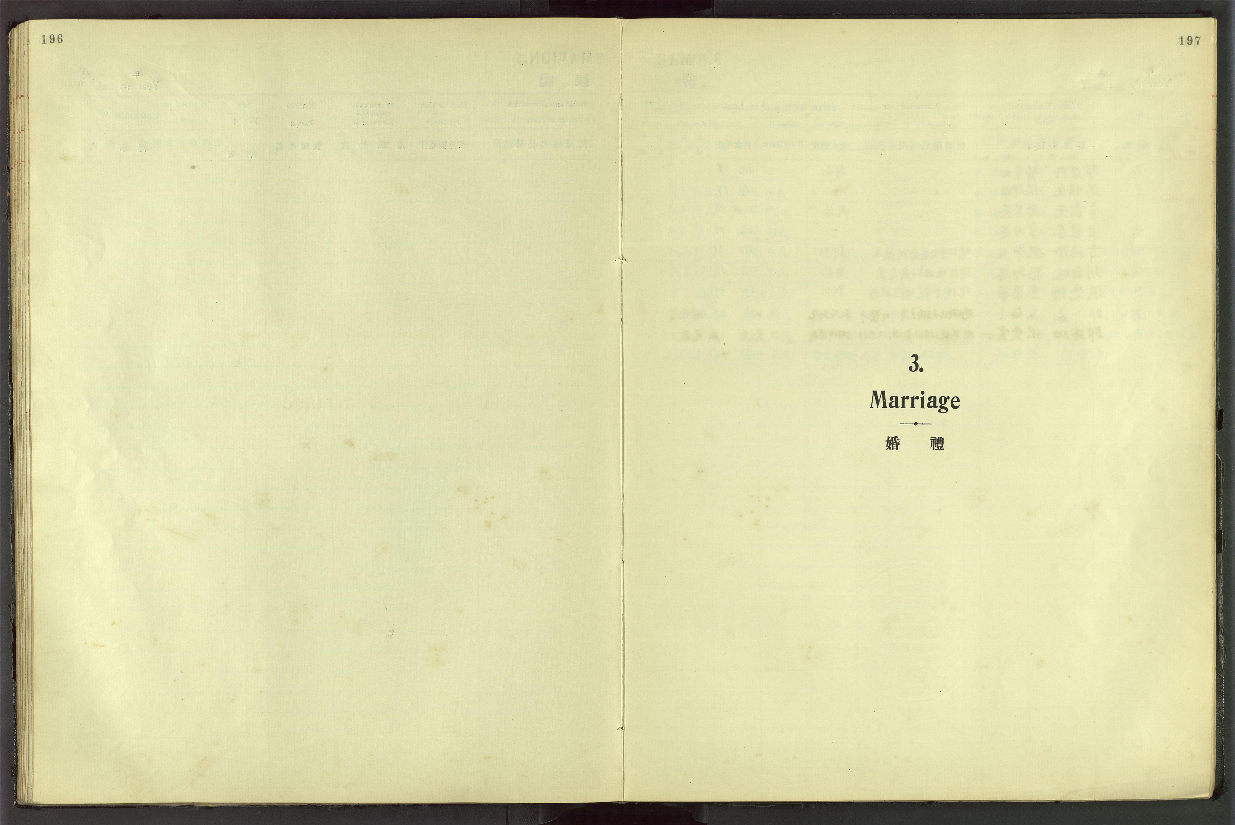VID, Det Norske Misjonsselskap - utland - Kina (Hunan), Dm/L0044: Ministerialbok nr. 82, 1906-1948, s. 196-197