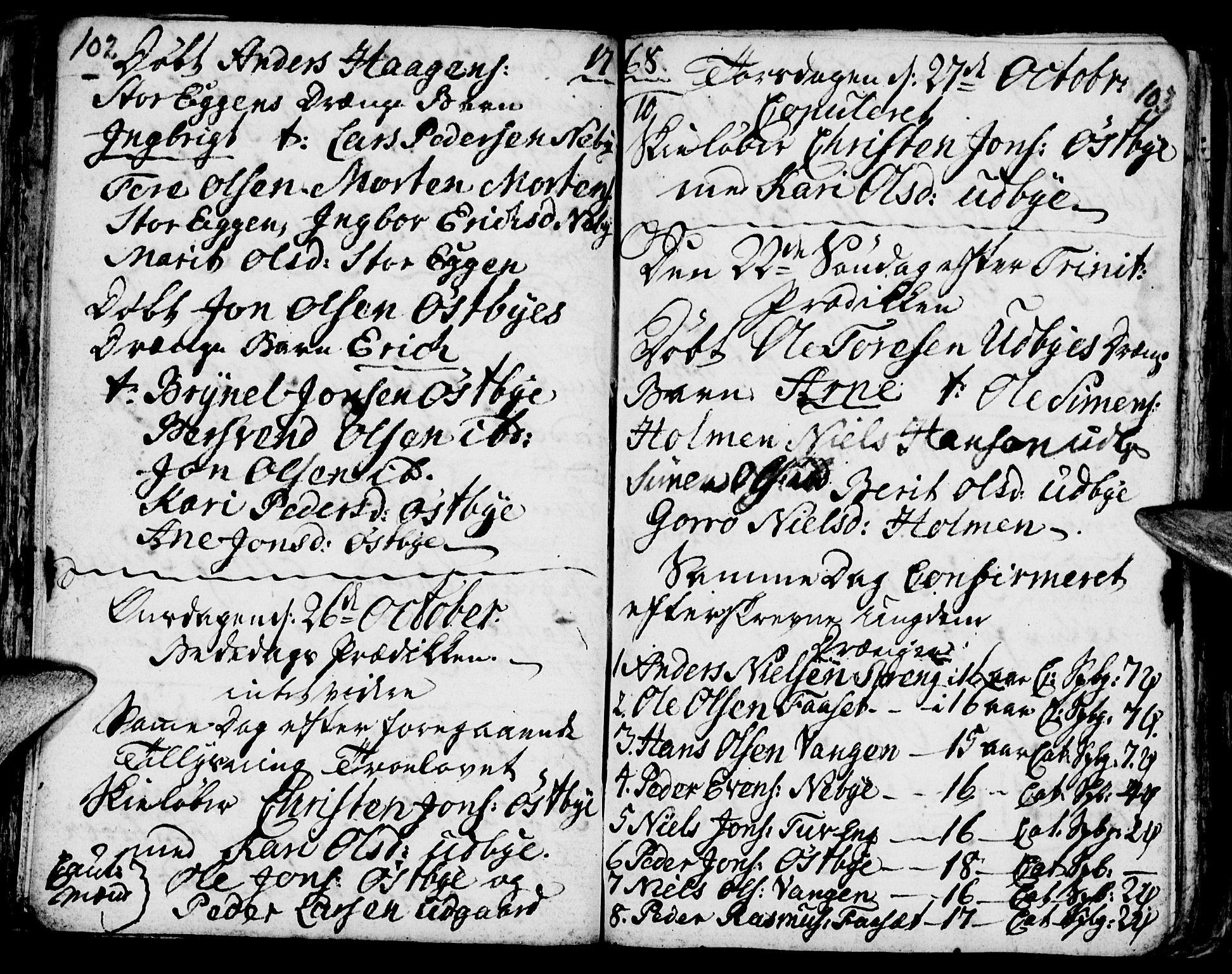 SAH, Tynset prestekontor, Ministerialbok nr. 6, 1763-1779, s. 102-103
