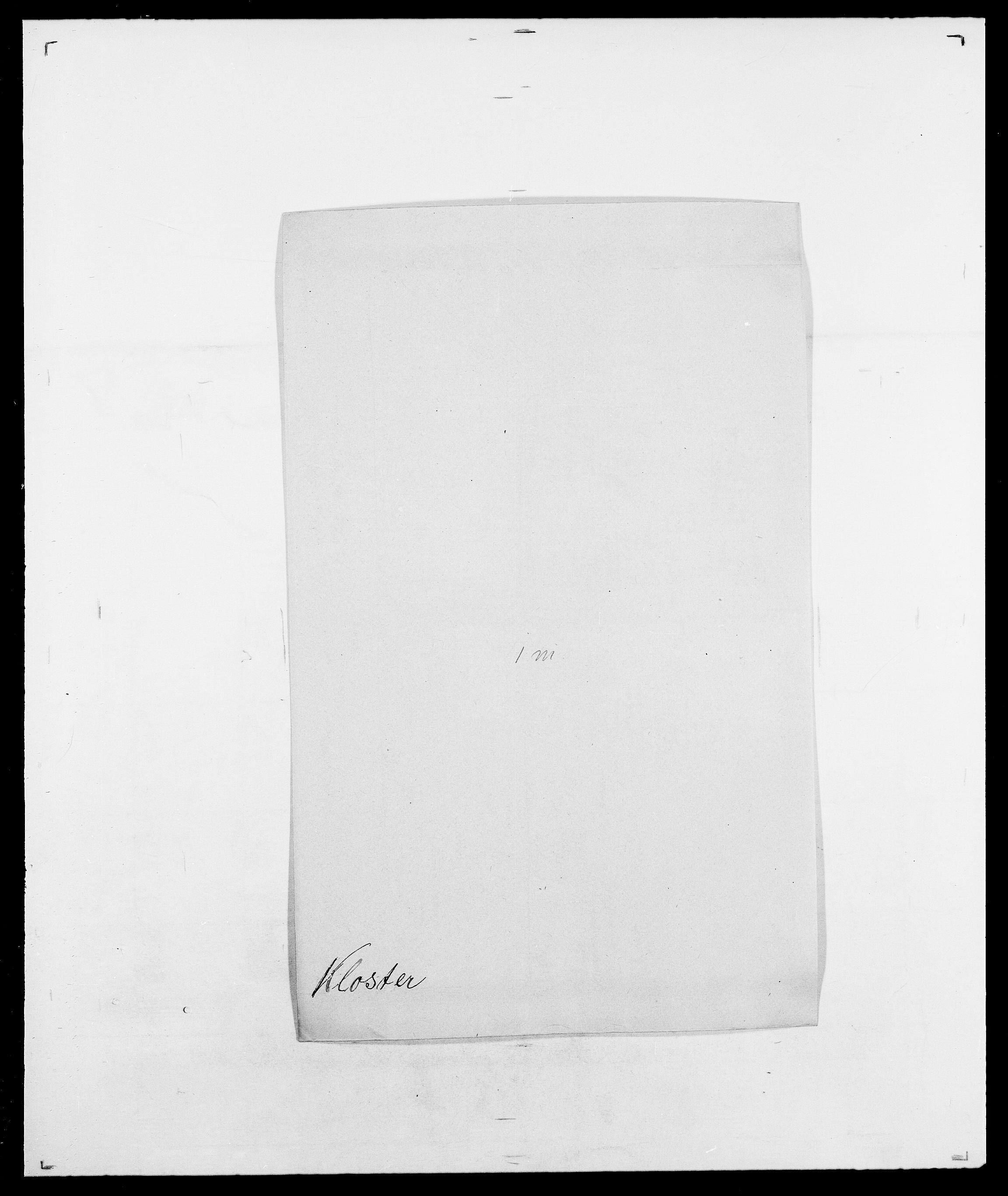 SAO, Delgobe, Charles Antoine - samling, D/Da/L0021: Klagenberg - Kristoft, s. 146
