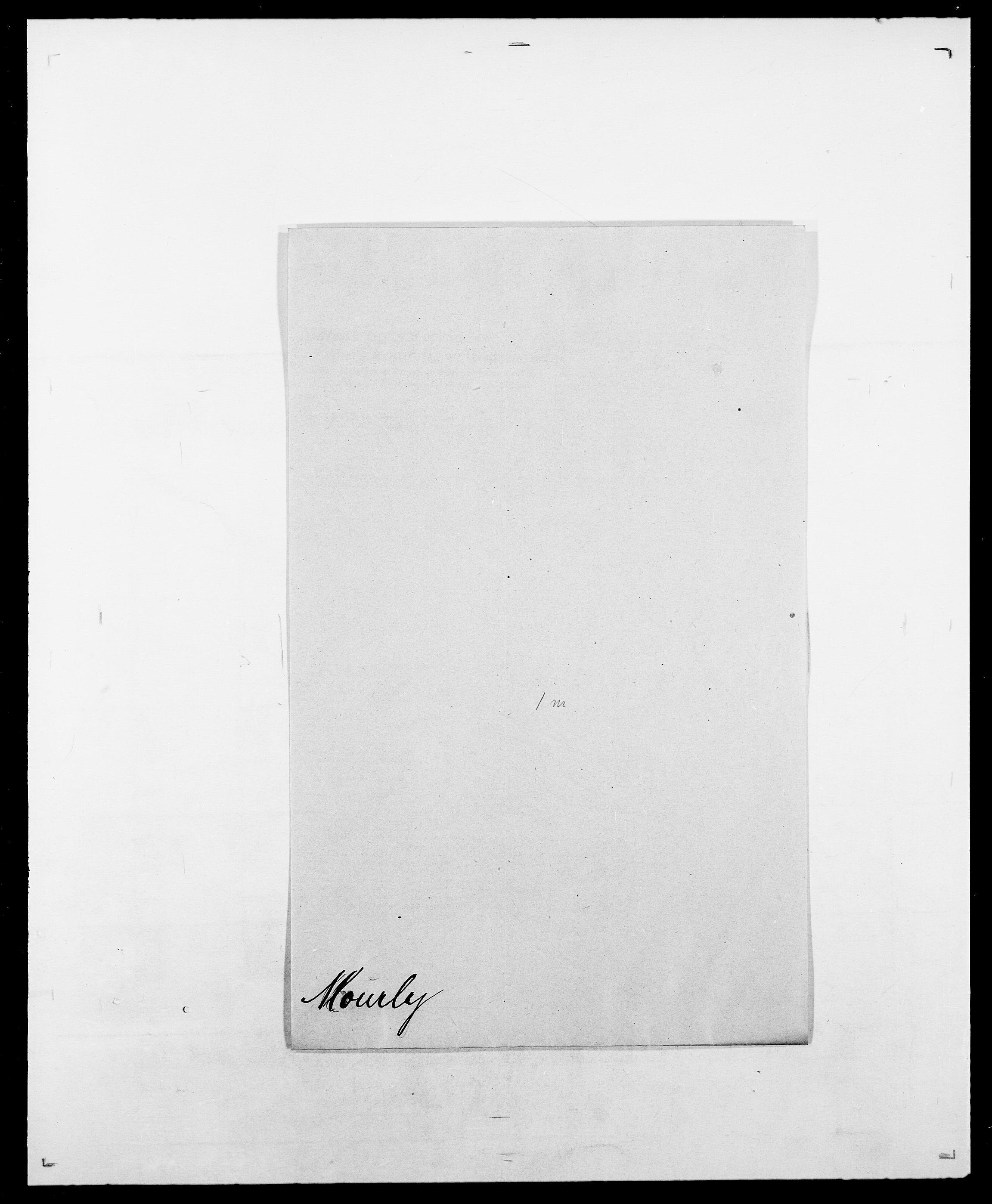 SAO, Delgobe, Charles Antoine - samling, D/Da/L0027: Morath - v. Møsting, s. 97
