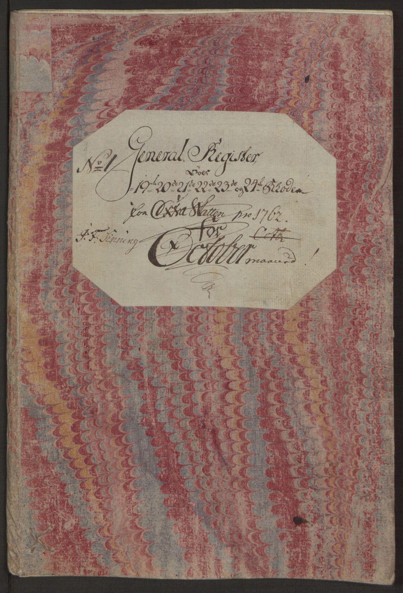 RA, Rentekammeret inntil 1814, Reviderte regnskaper, Byregnskaper, R/Rp/L0365: [P20] Kontribusjonsregnskap, 1762, s. 149