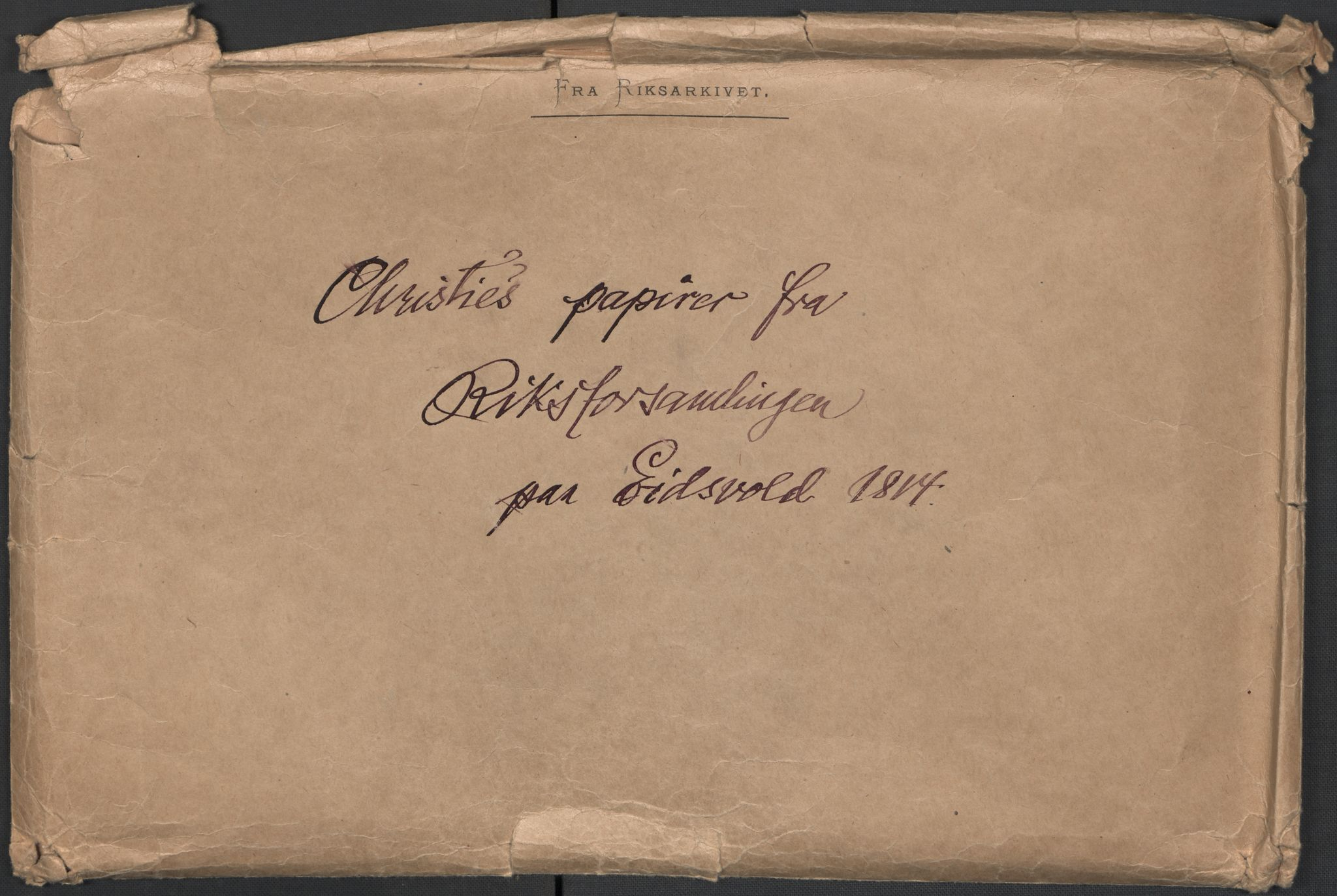 RA, Christie, Wilhelm Frimann Koren, F/L0004, 1814, s. 5