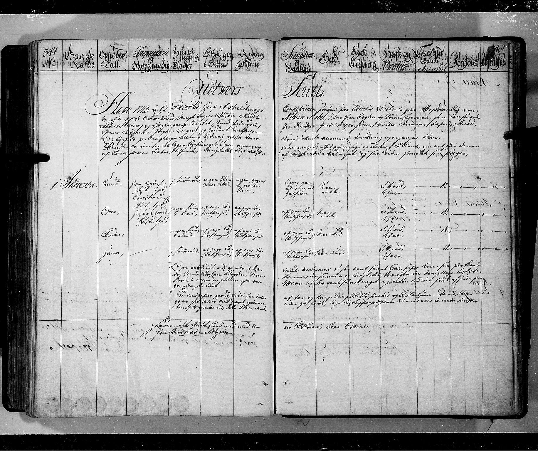RA, Rentekammeret inntil 1814, Realistisk ordnet avdeling, N/Nb/Nbf/L0143: Ytre og Indre Sogn eksaminasjonsprotokoll, 1723, s. 347-348