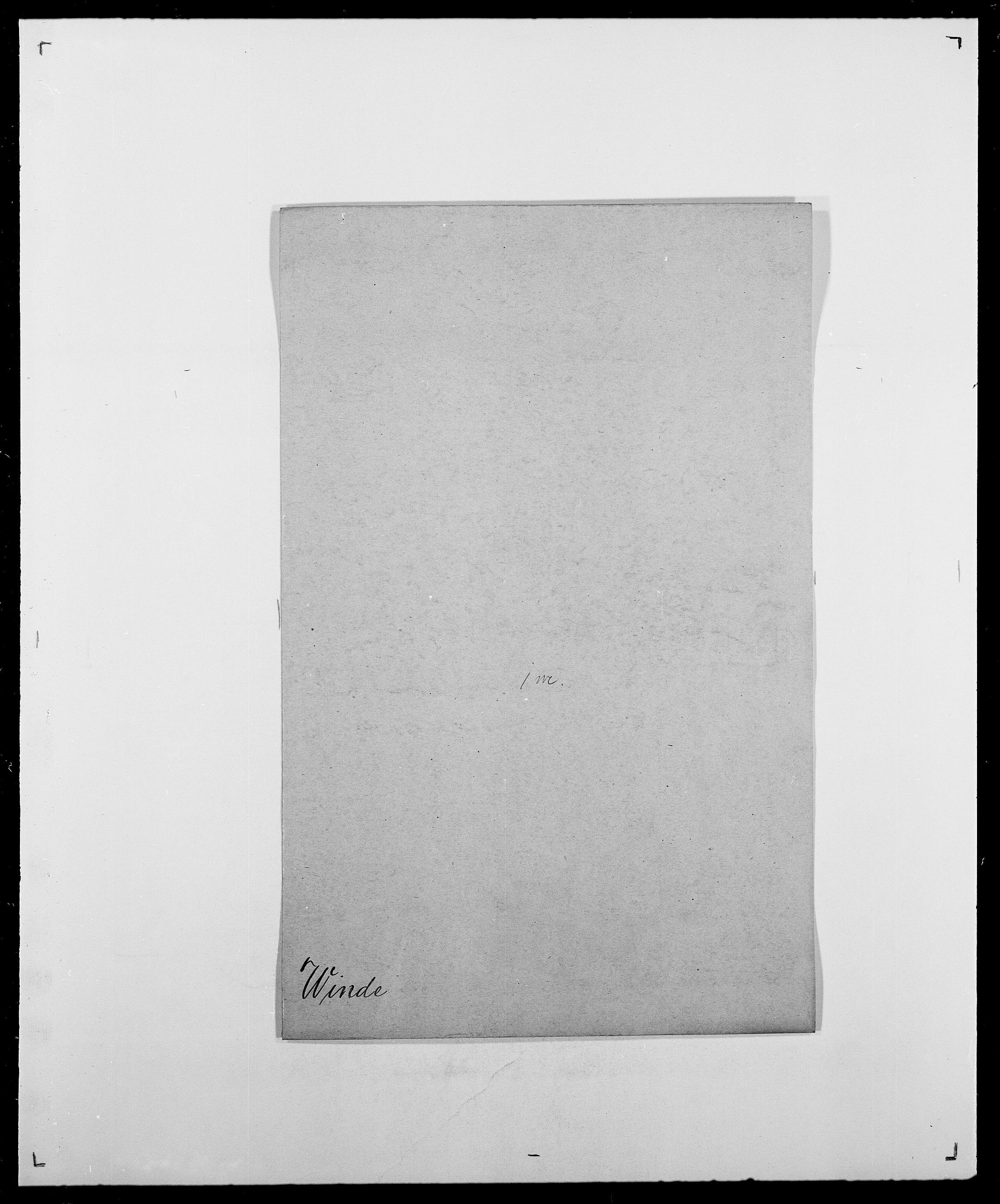 SAO, Delgobe, Charles Antoine - samling, D/Da/L0042: Vilain - Wulf, Wulff, se også Wolf, s. 145