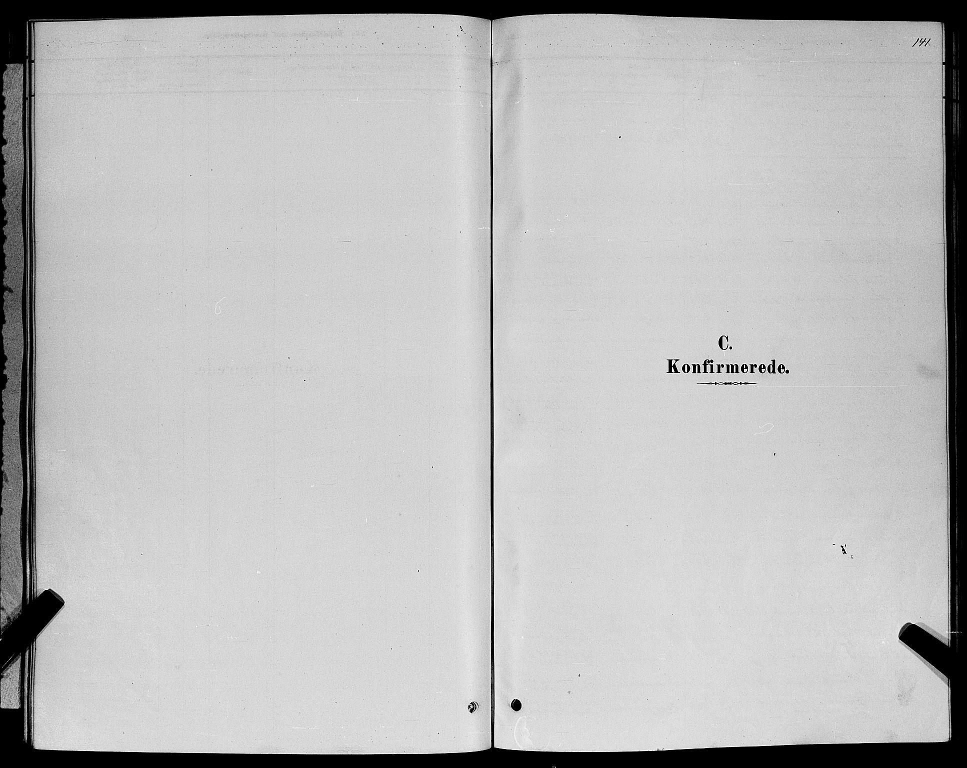 SAT, Ministerialprotokoller, klokkerbøker og fødselsregistre - Møre og Romsdal, 529/L0466: Klokkerbok nr. 529C03, 1878-1888, s. 141