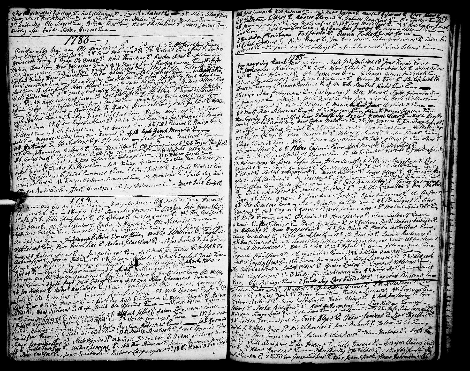 SAKO, Gjerpen kirkebøker, F/Fa/L0002: Ministerialbok nr. 2, 1747-1795, s. 259
