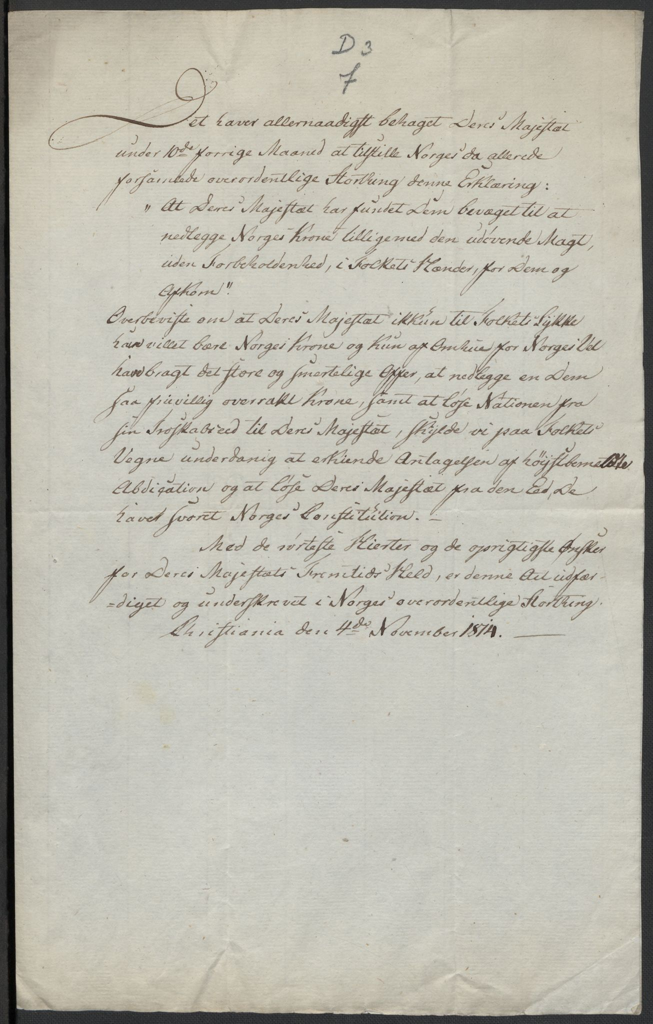 RA, Christie, Wilhelm Frimann Koren, F/L0004, 1814, s. 211